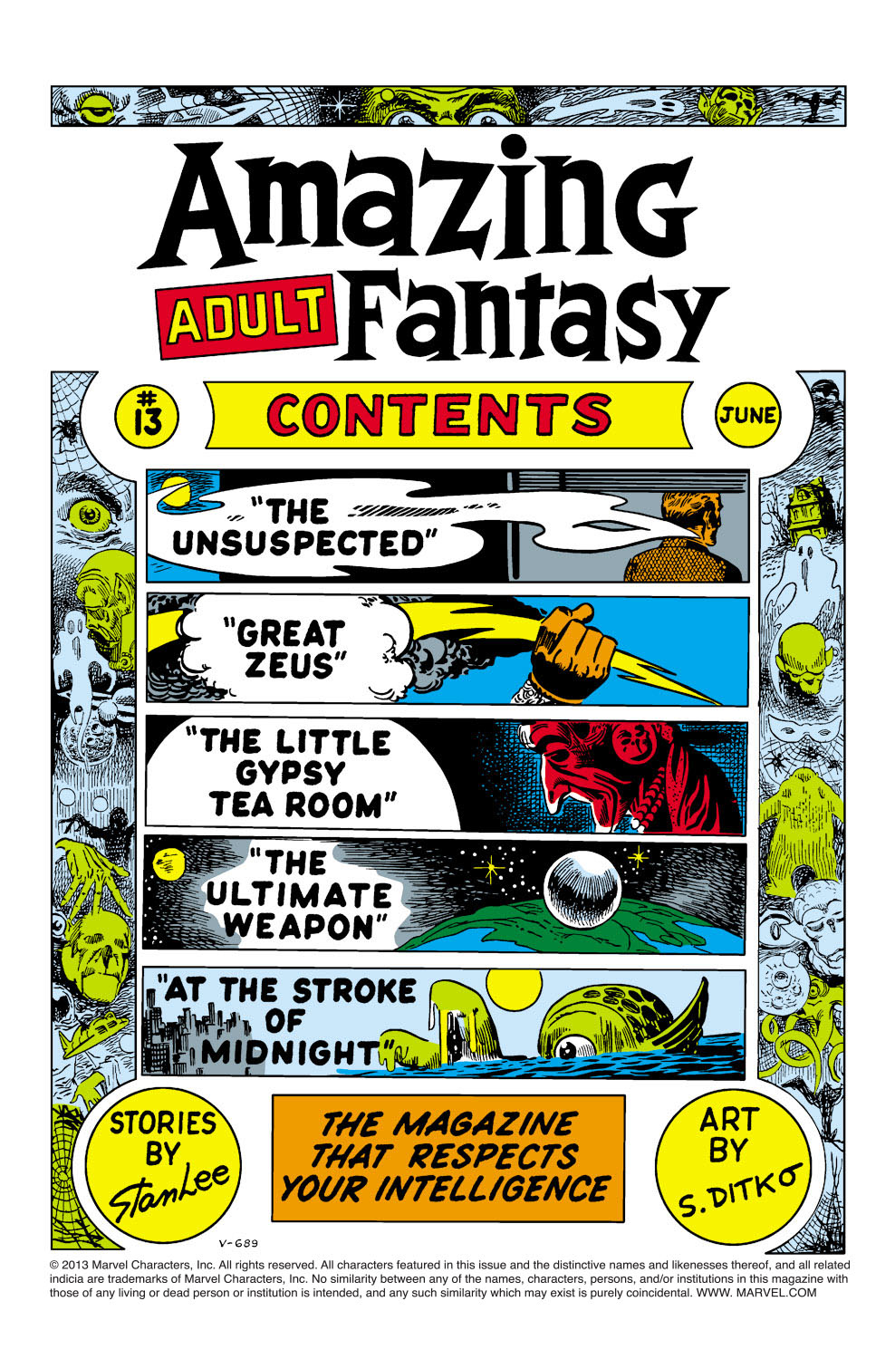 Read online Amazing Adult Fantasy comic -  Issue #13 - 2