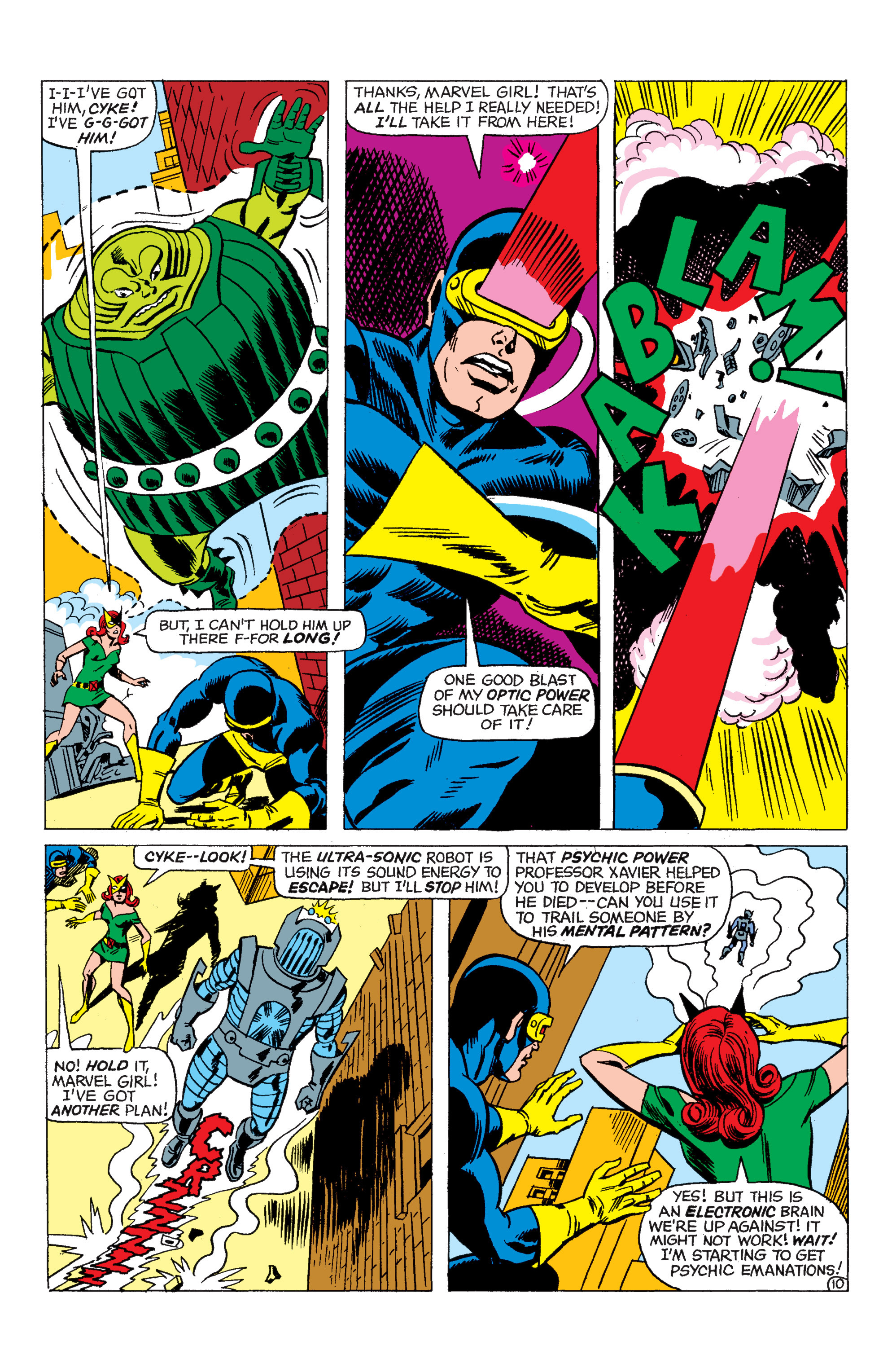 Read online Uncanny X-Men (1963) comic -  Issue #48 - 11