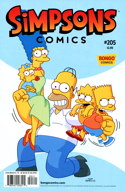 Simpsons Comics 205 Page 1