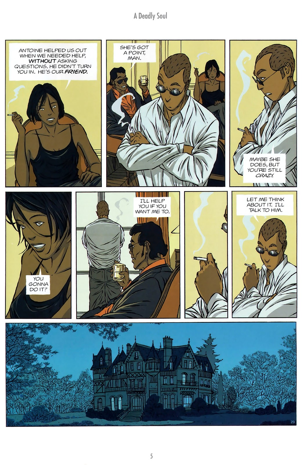 Read online The Killer comic -  Issue #10 - 5