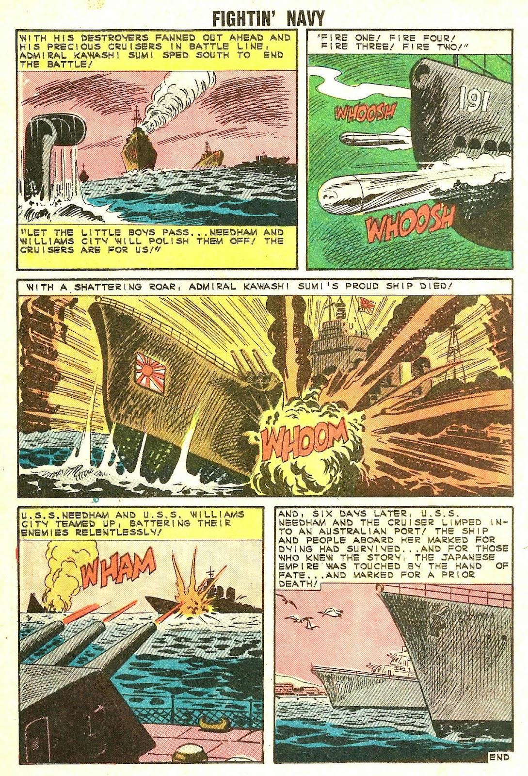 Read online Fightin' Navy comic -  Issue #114 - 12