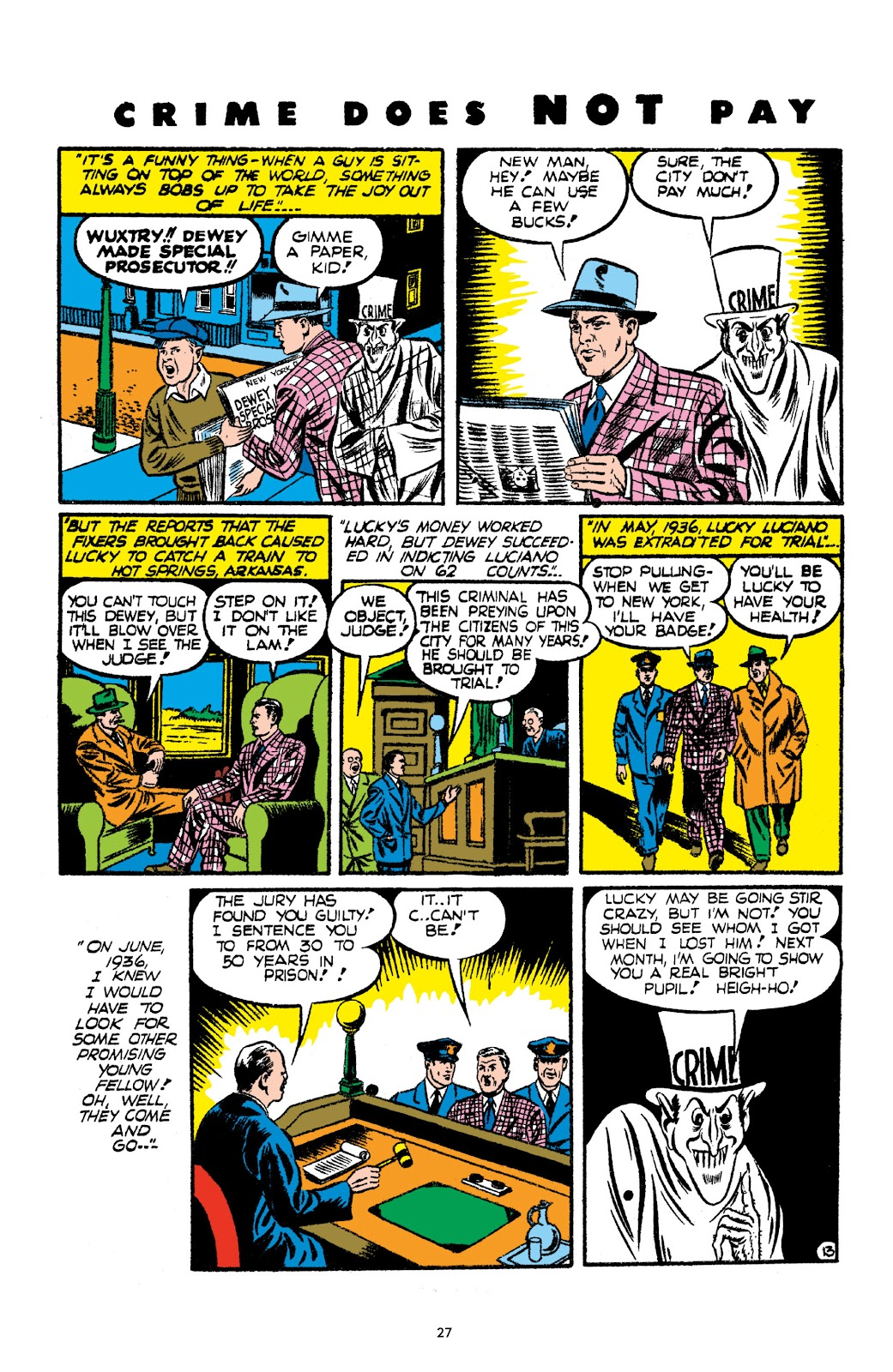 Read online Crime Does Not Pay Archives comic -  Issue # TPB 2 (Part 1) - 27