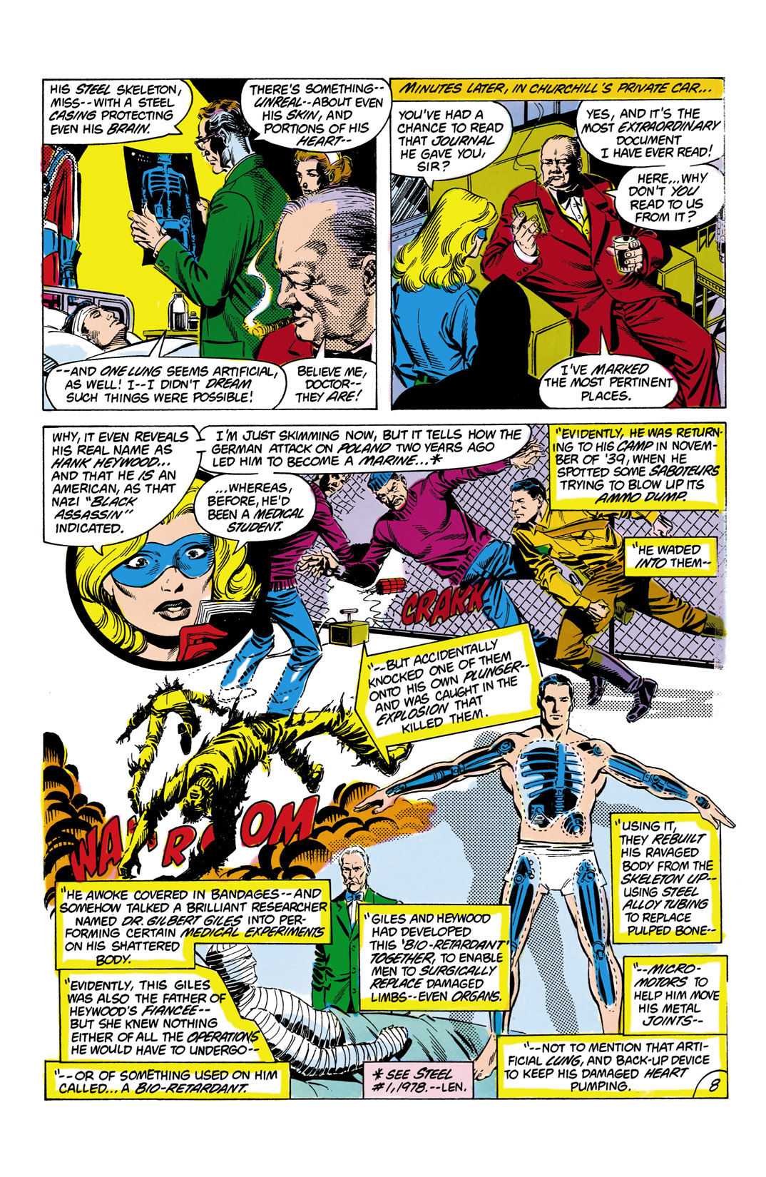 Read online All-Star Squadron comic -  Issue #8 - 9