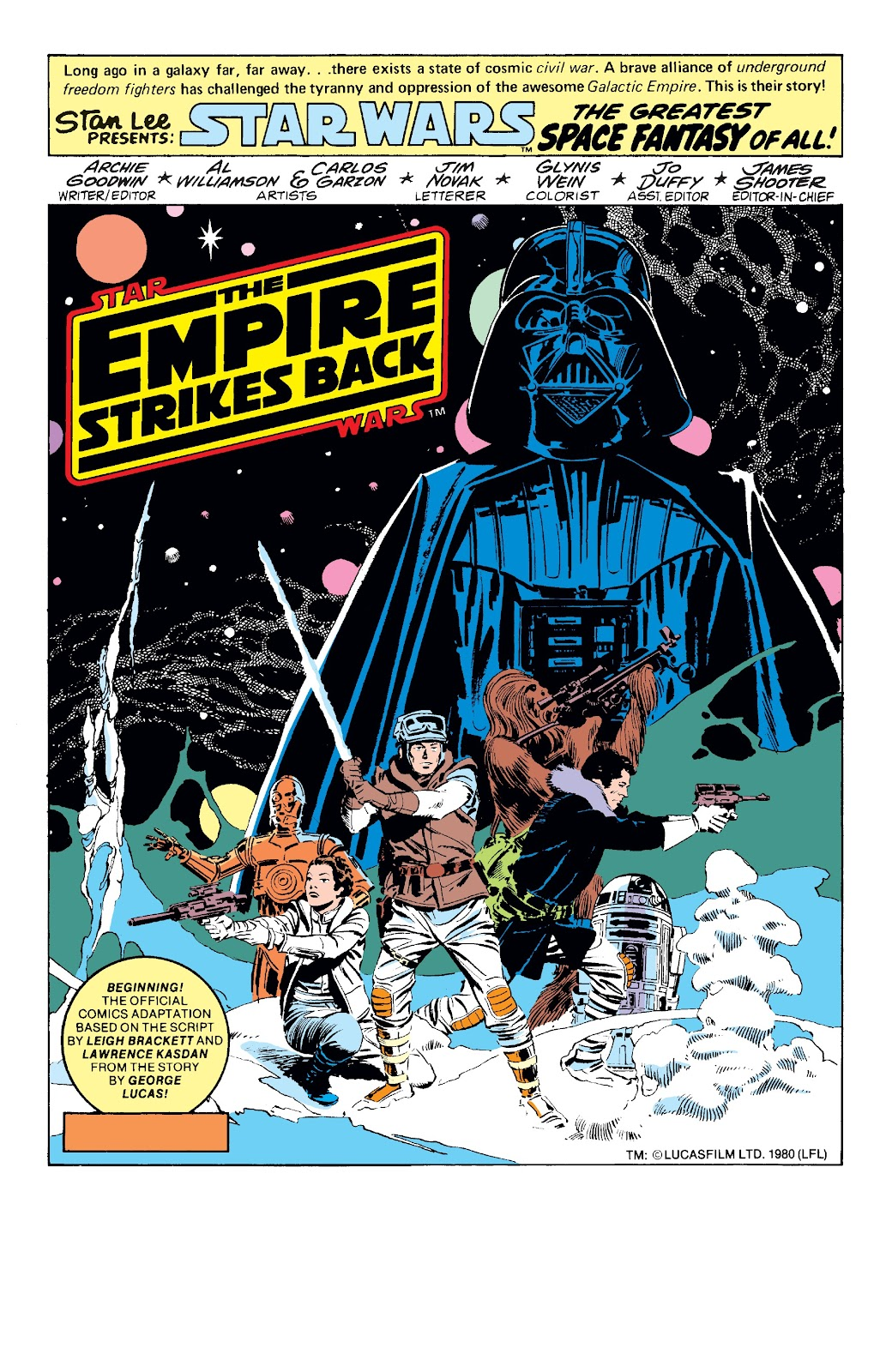 Read online Star Wars Legends: The Original Marvel Years - Epic Collection comic -  Issue # TPB 3 (Part 1) - 7
