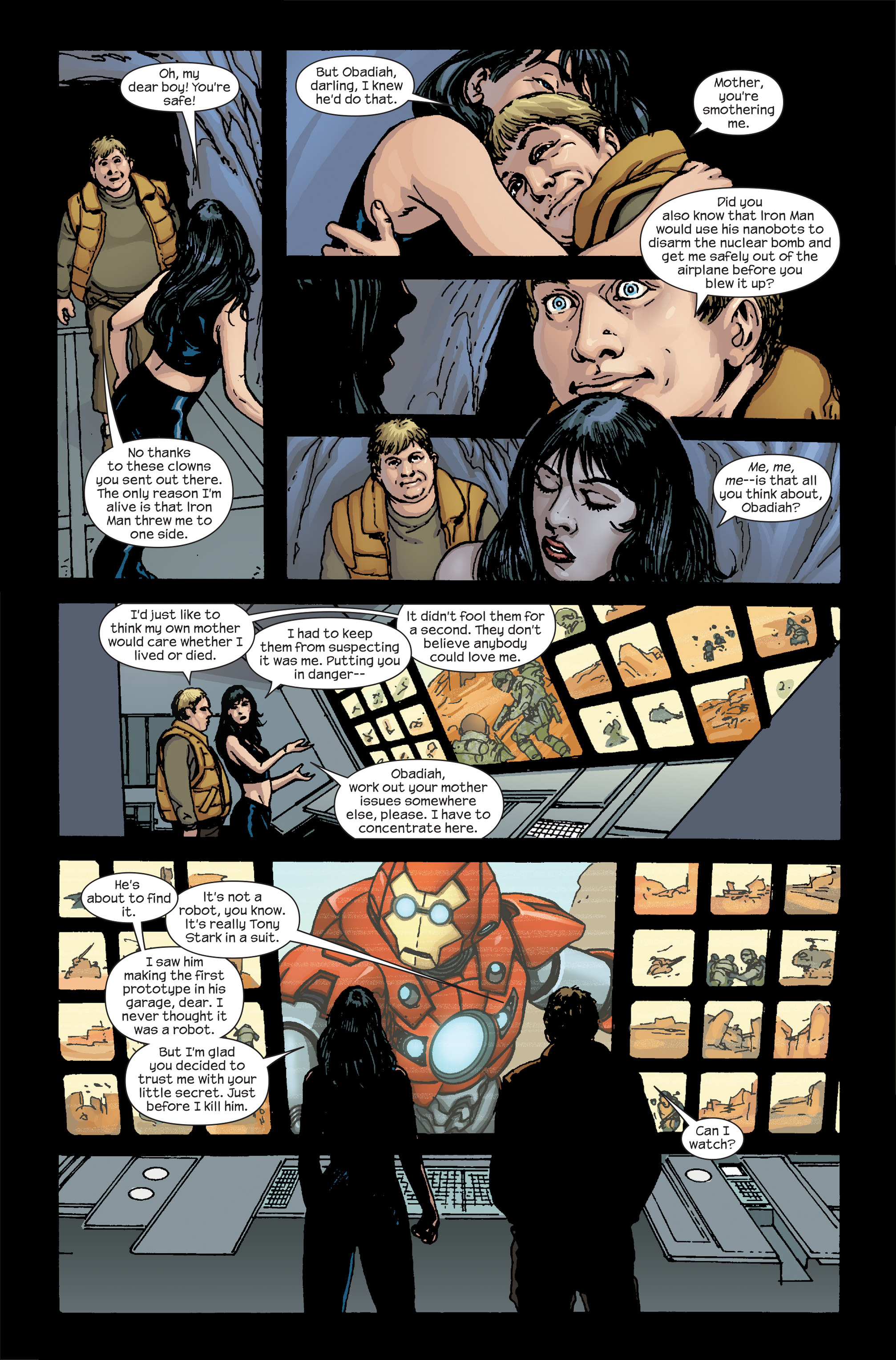 Read online Ultimate Iron Man II comic -  Issue #5 - 13