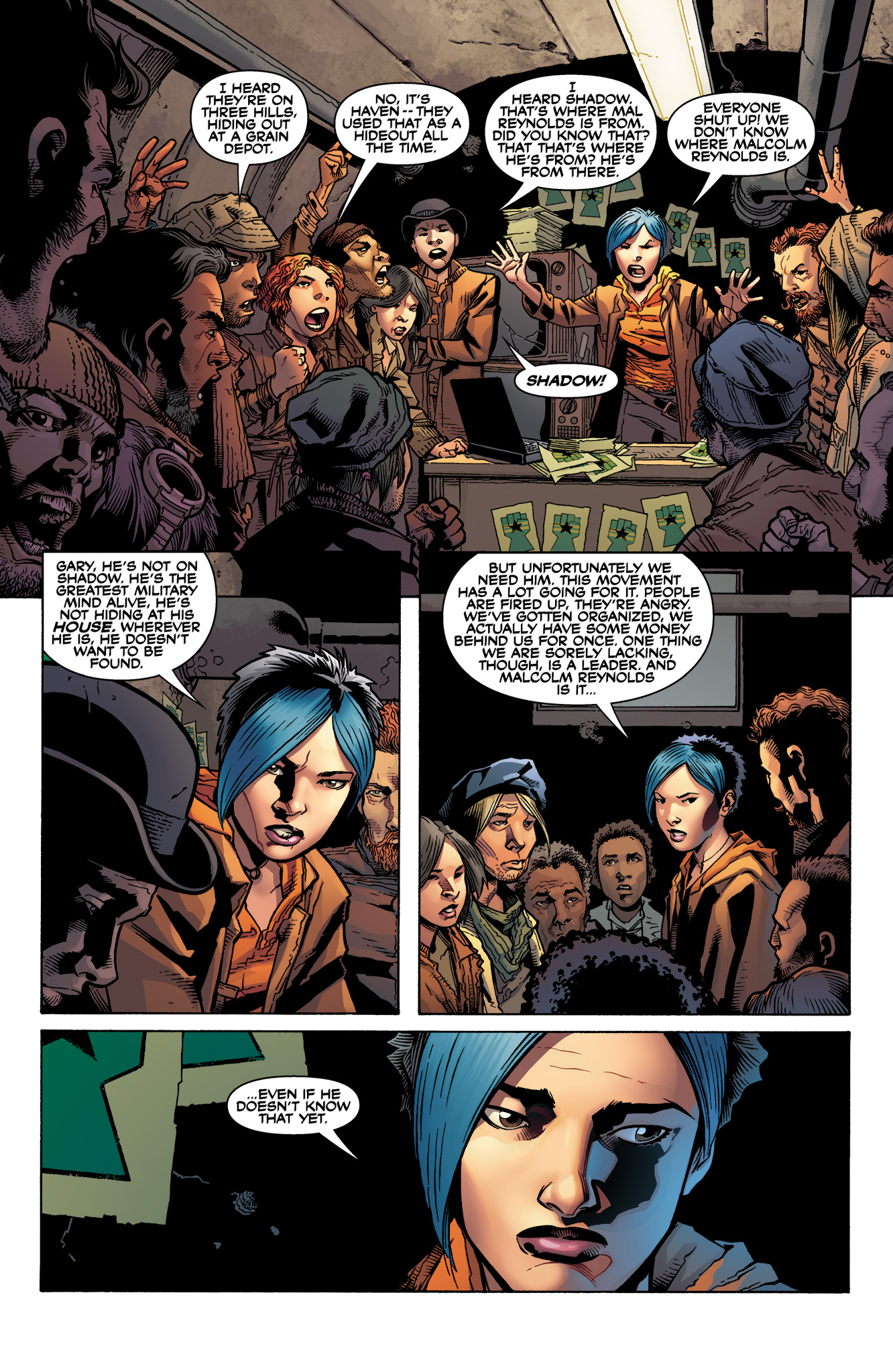 Read online Serenity: Firefly Class 03-K64  Leaves on the Wind comic -  Issue #1 - 8