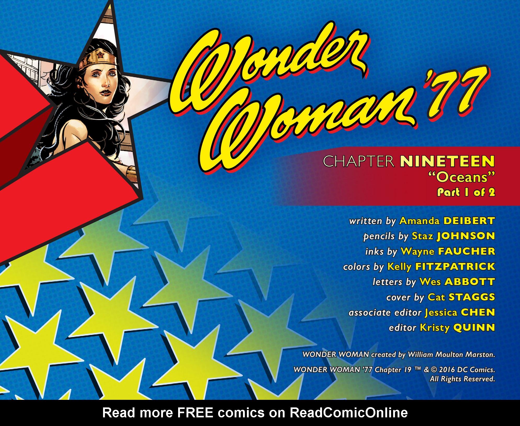 Read online Wonder Woman '77 [I] comic -  Issue #19 - 2