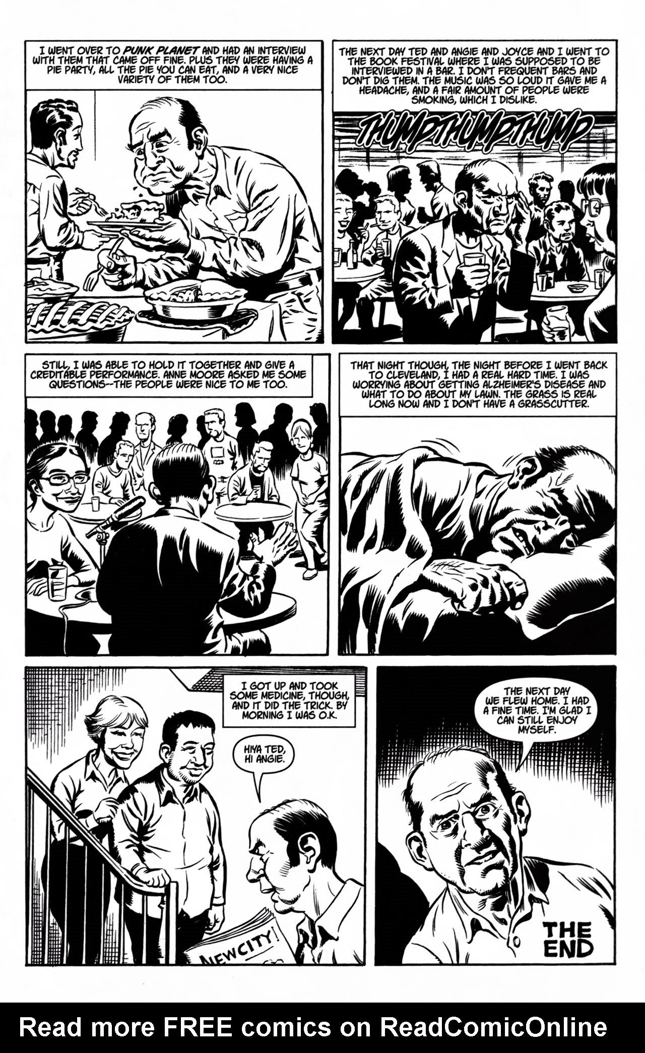 Read online American Splendor (2008) comic -  Issue #1 - 21