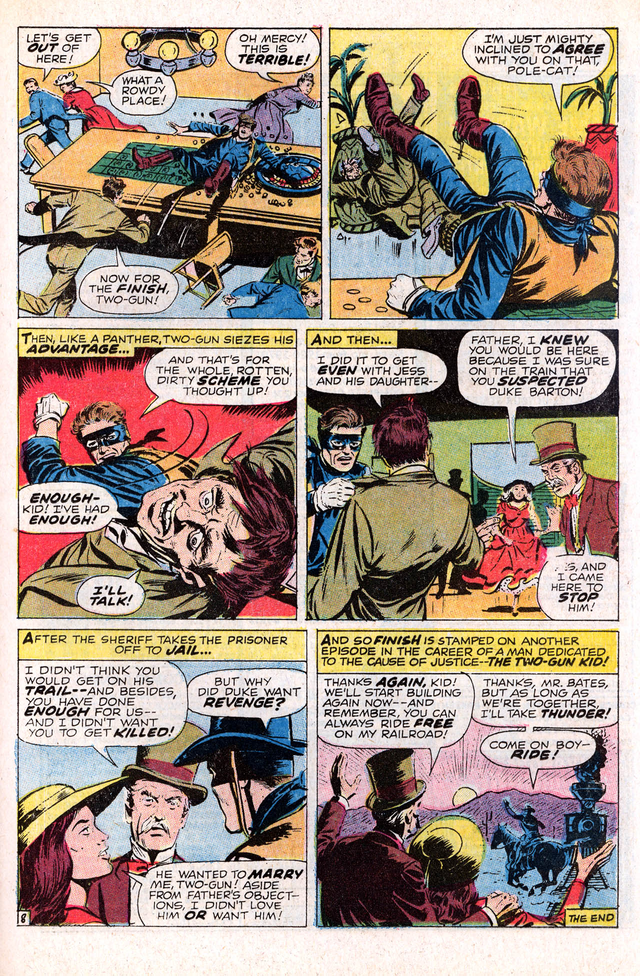 Read online Two-Gun Kid comic -  Issue #98 - 25