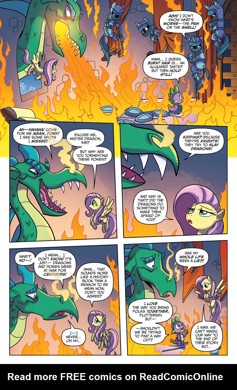 Read online My Little Pony: Friendship is Magic comic -  Issue #53 - 13