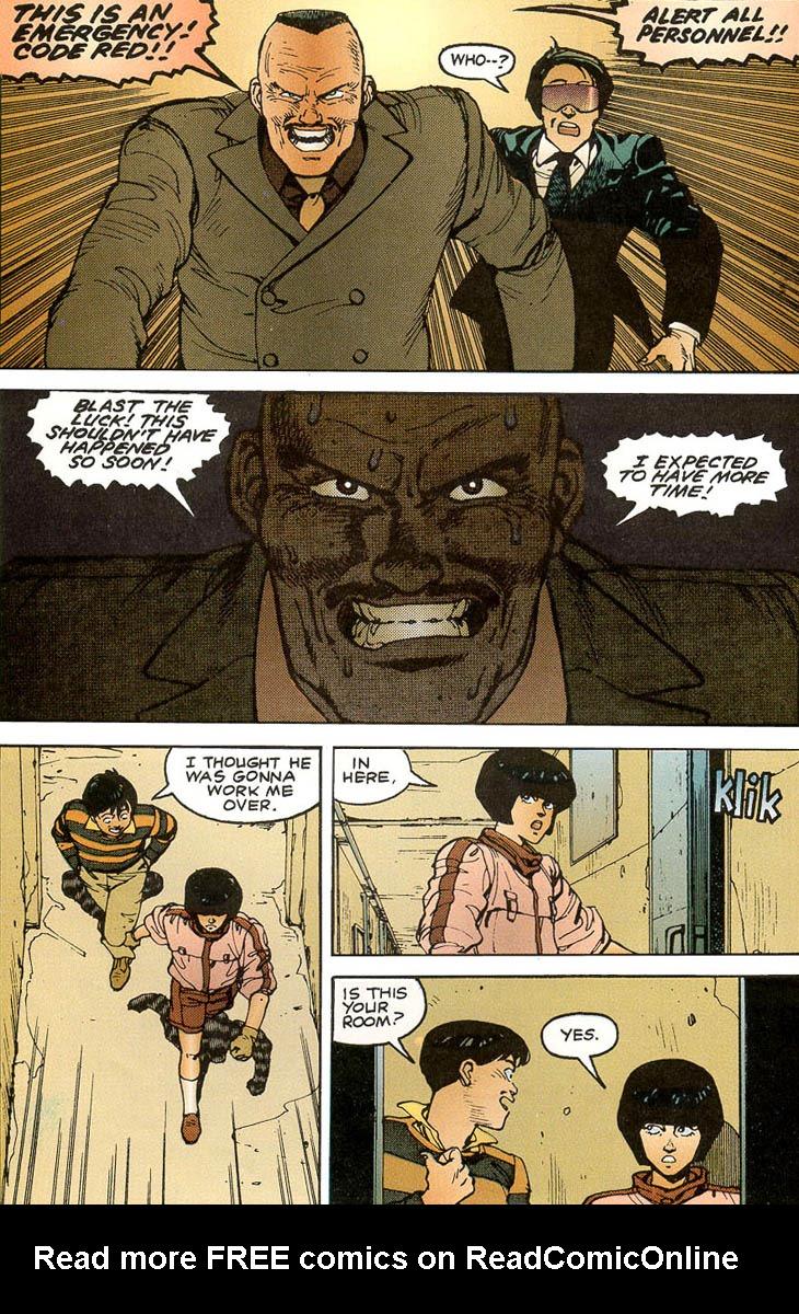 Read online Akira comic -  Issue #3 - 40