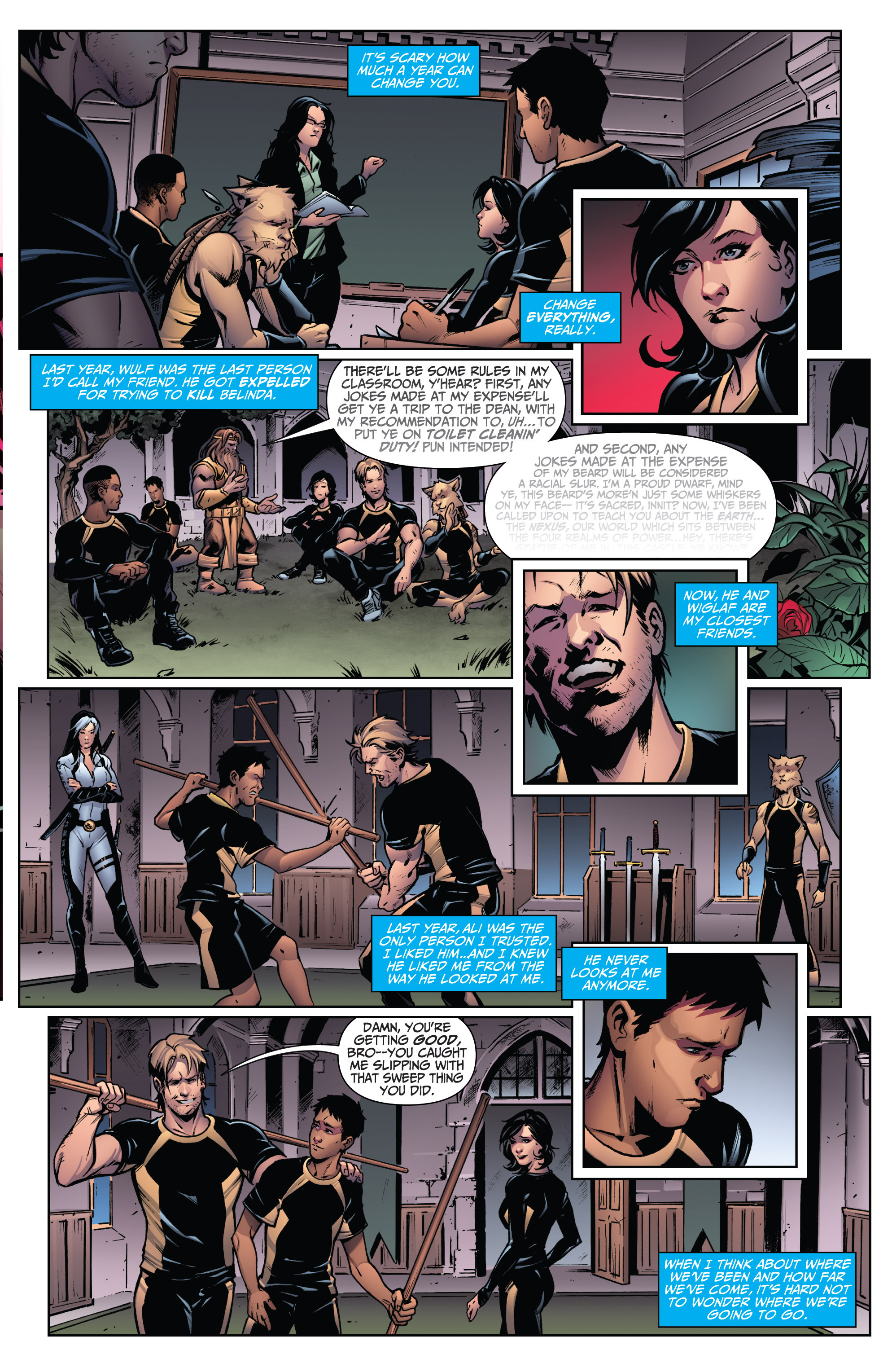 Read online Grimm Fairy Tales: Arcane Acre comic -  Issue # TPB 3 - 15