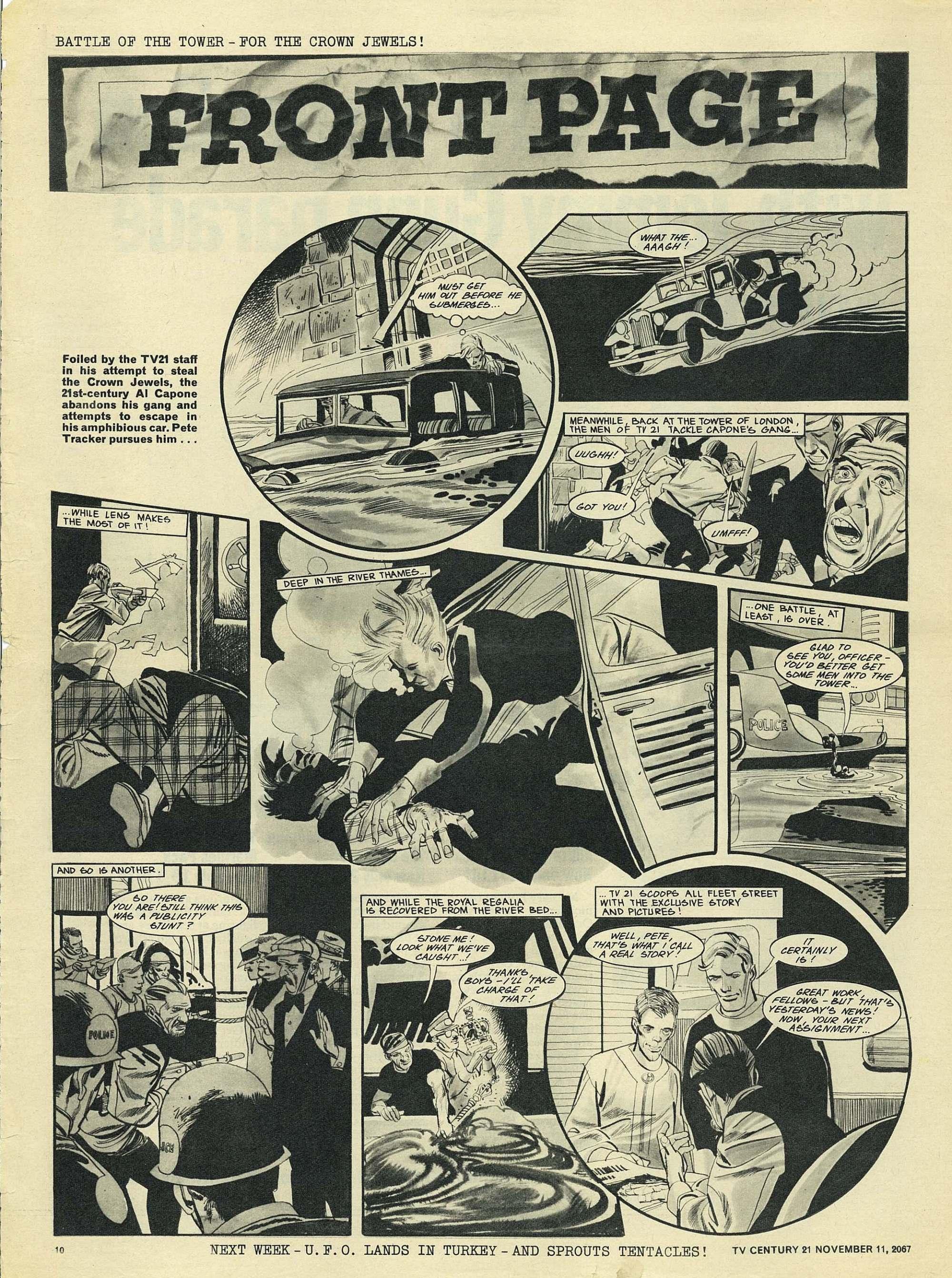Read online TV Century 21 (TV 21) comic -  Issue #147 - 10