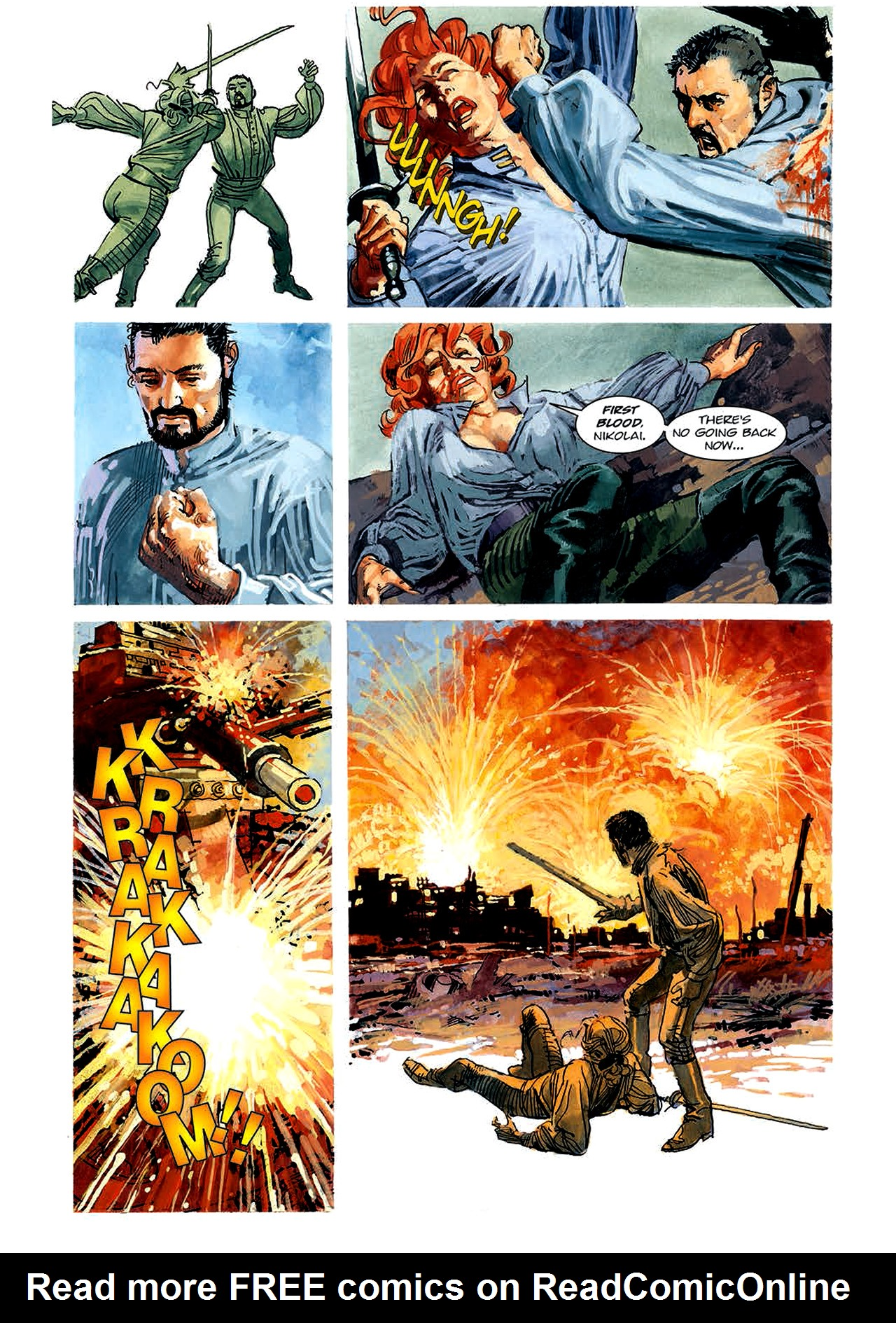 Read online Nikolai Dante comic -  Issue # TPB 4 - 94