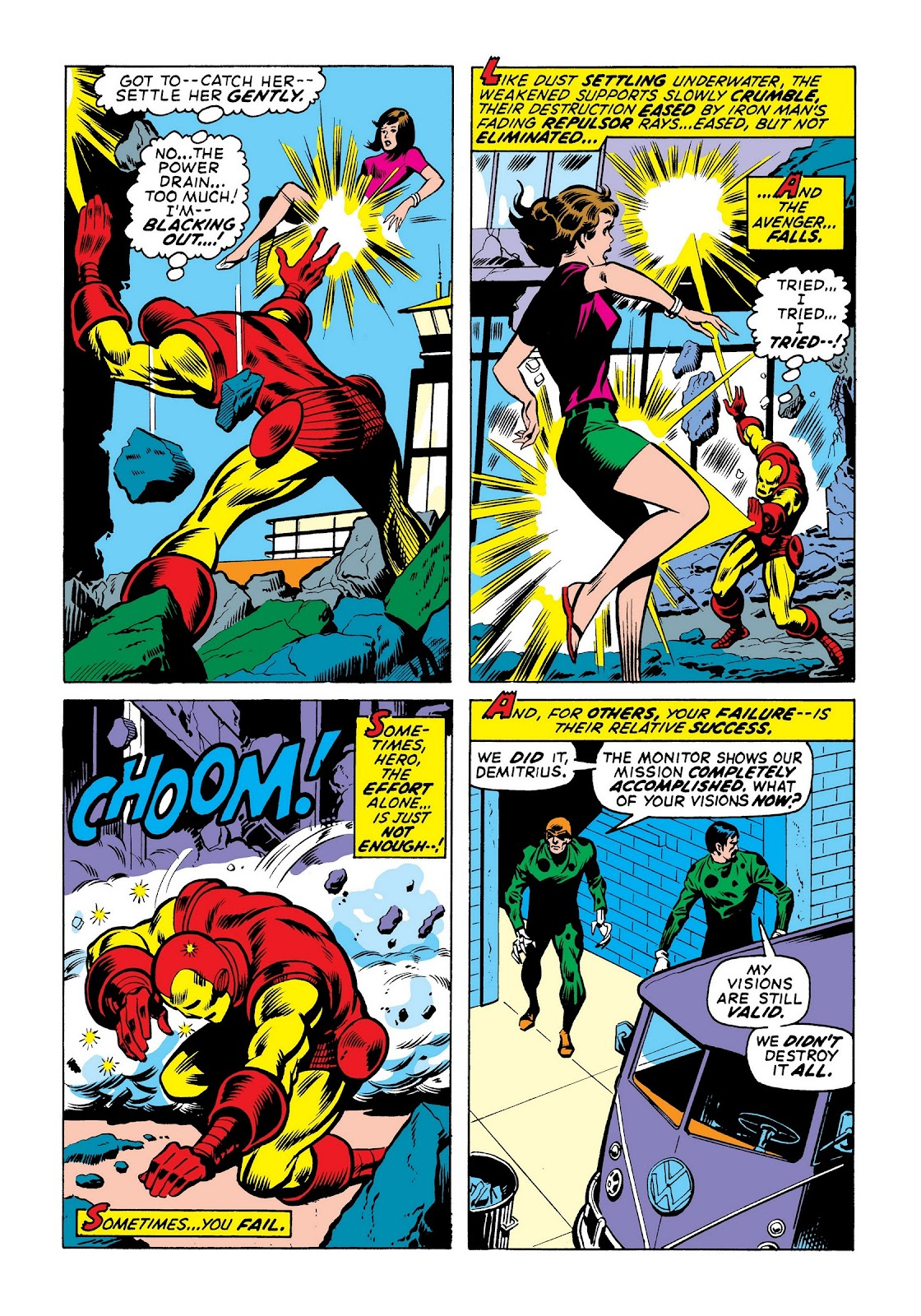 Read online Marvel Masterworks: The Invincible Iron Man comic -  Issue # TPB 8 (Part 1) - 55