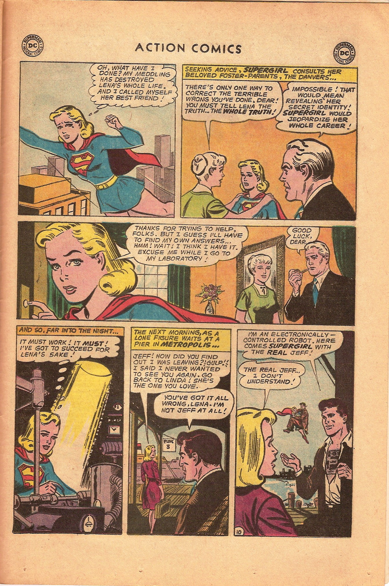 Action Comics (1938) 317 Page 28