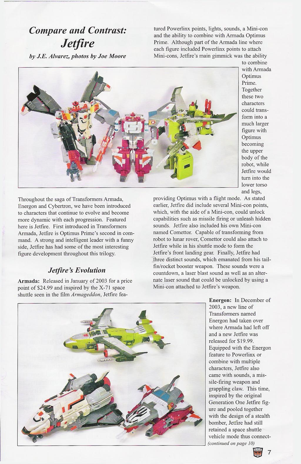 Read online Transformers: Collectors' Club comic -  Issue #4 - 7