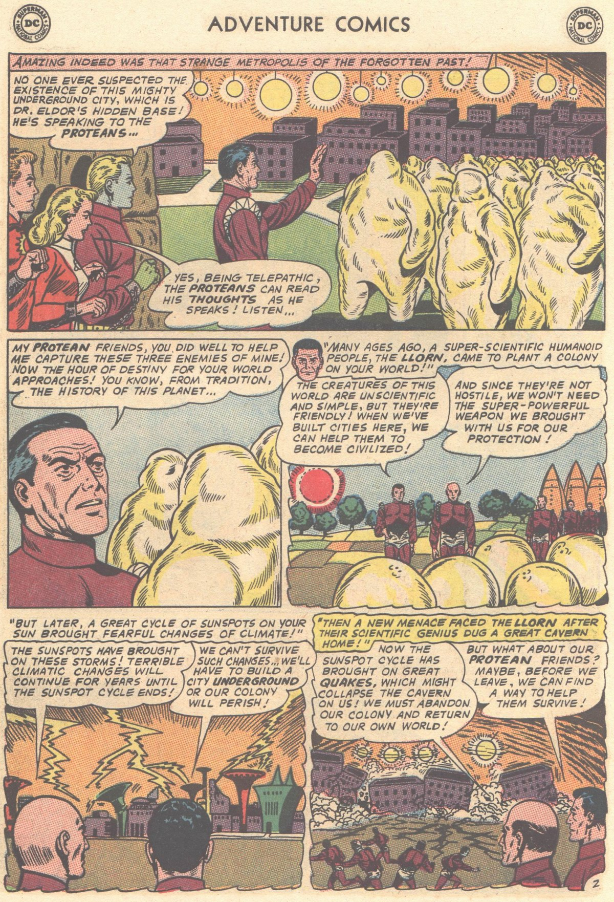 Read online Adventure Comics (1938) comic -  Issue #334 - 14