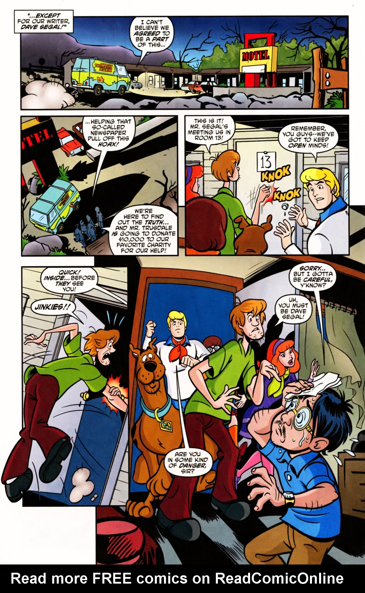 Read online Scooby-Doo (1997) comic -  Issue #156 - 5