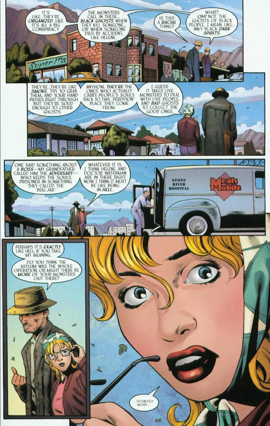 Read online Route 666 comic -  Issue #5 - 11