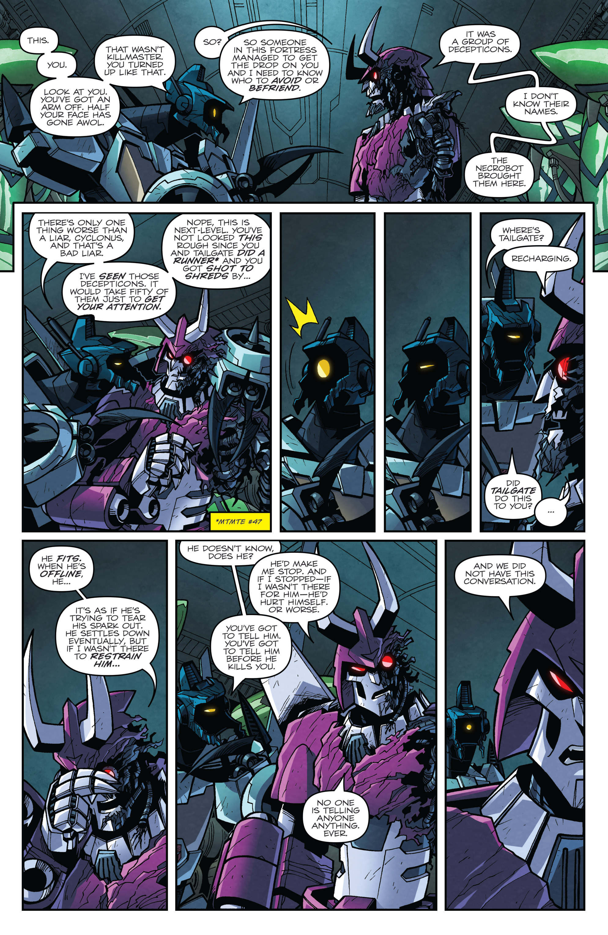 Read online Transformers: Lost Light comic -  Issue #4 - 14