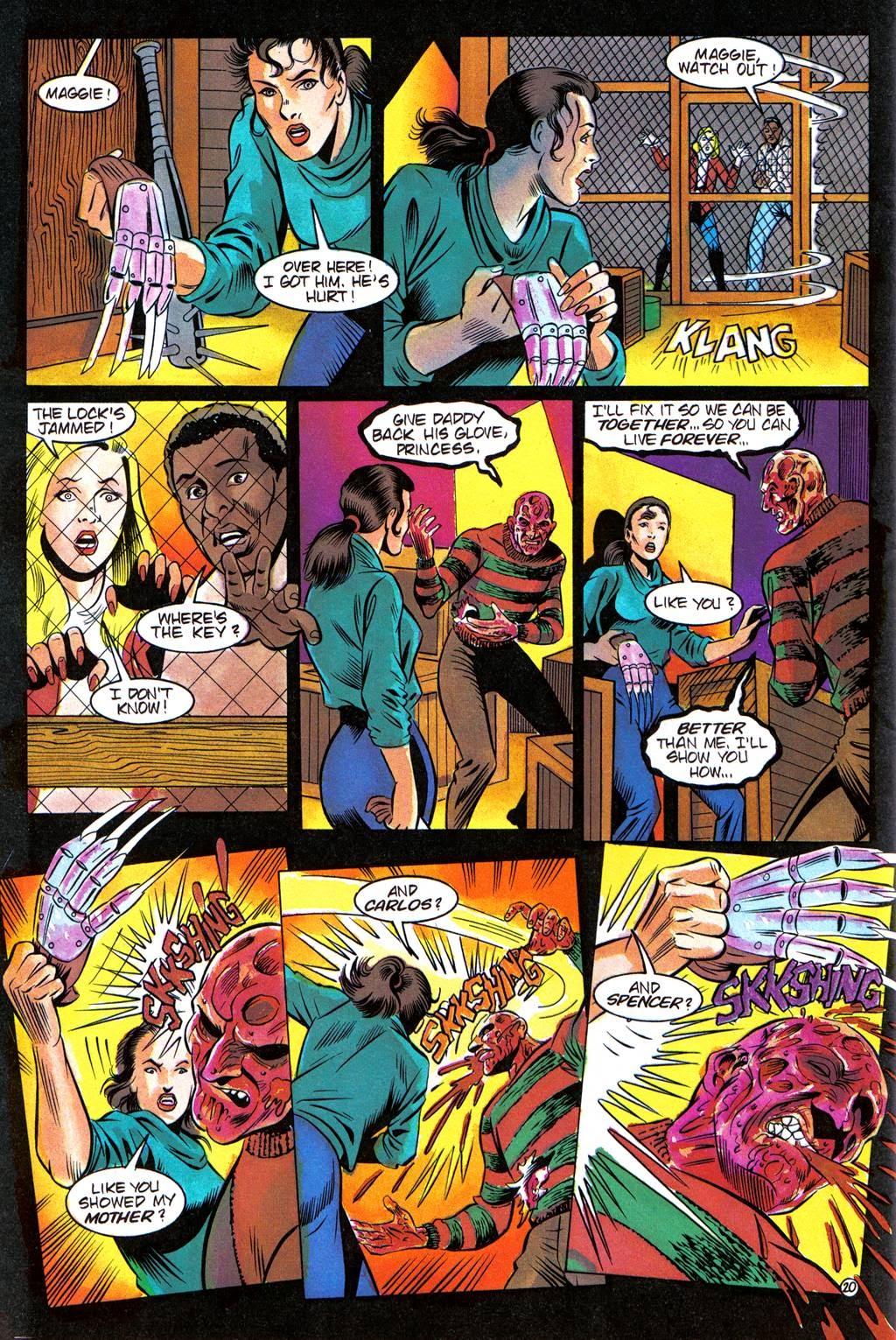 Read online Freddy's Dead: The Final Nightmare comic -  Issue #3 - 23
