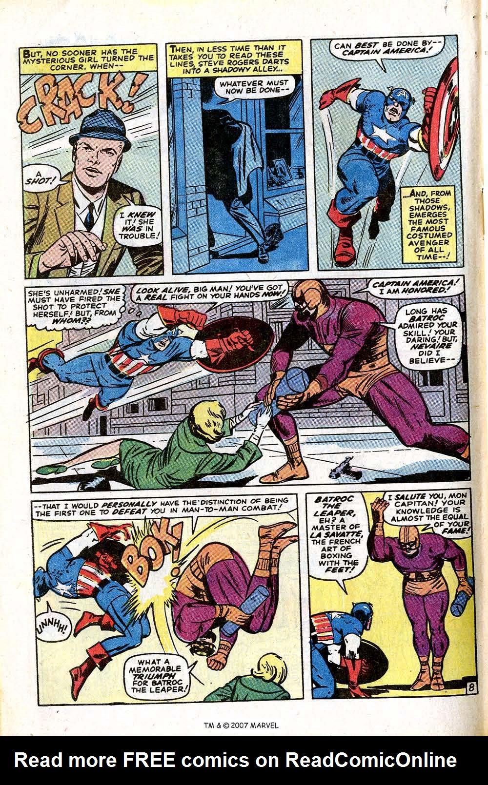Read online Captain America (1968) comic -  Issue # _Annual 1 - 62