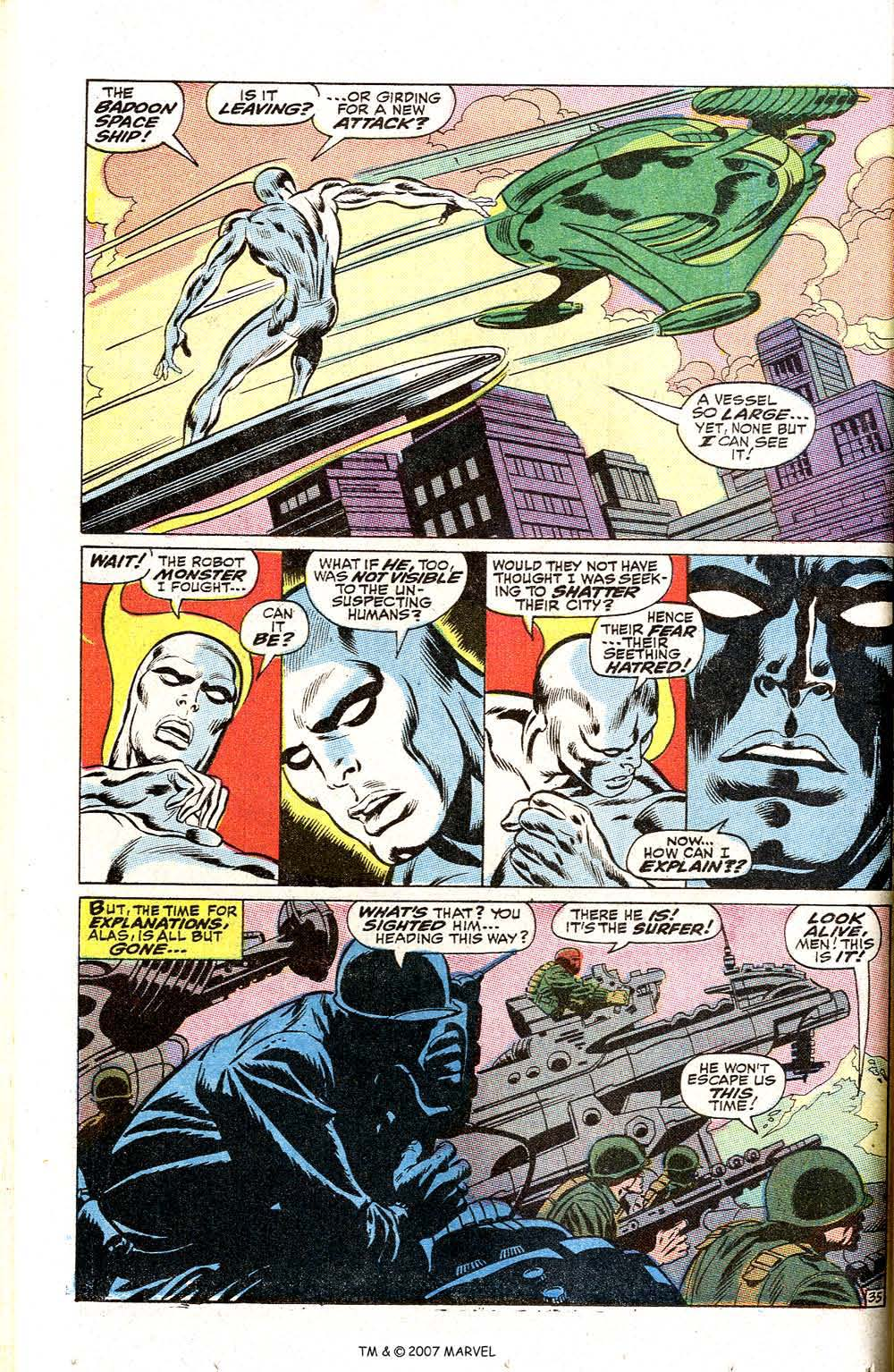 Read online Silver Surfer (1968) comic -  Issue #2 - 46