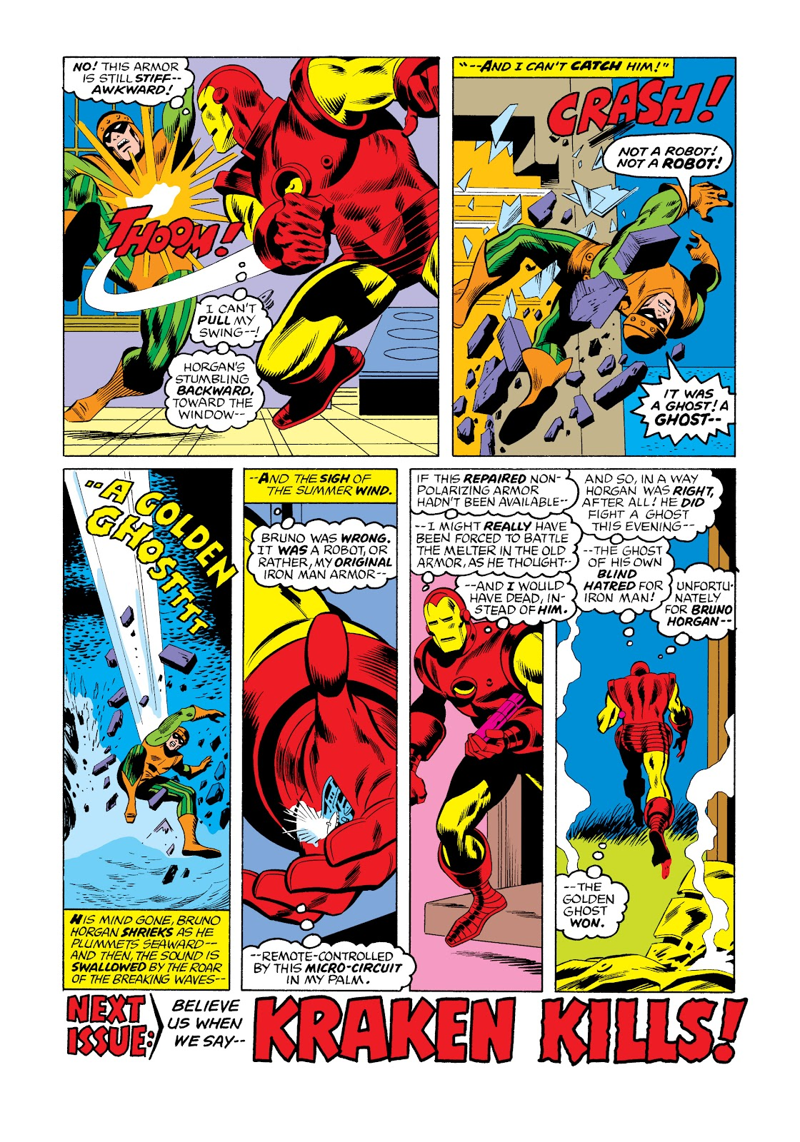Read online Marvel Masterworks: The Invincible Iron Man comic -  Issue # TPB 11 (Part 3) - 46