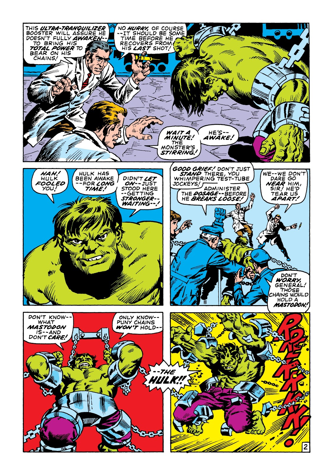 Read online Marvel Masterworks: The Incredible Hulk comic -  Issue # TPB 6 (Part 3) - 16