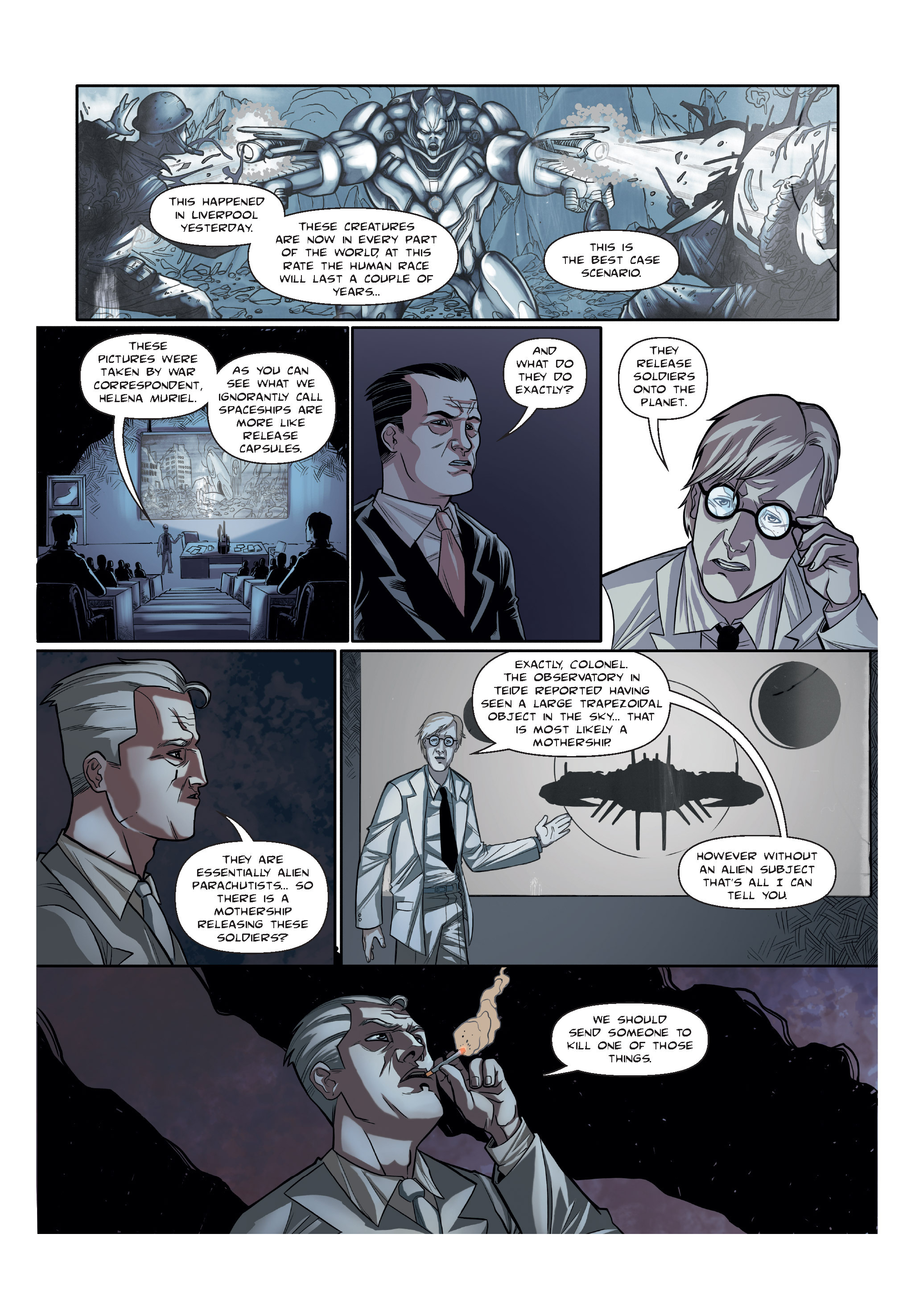 Read online The Shadow of a Terrible Thing comic -  Issue # TPB - 13