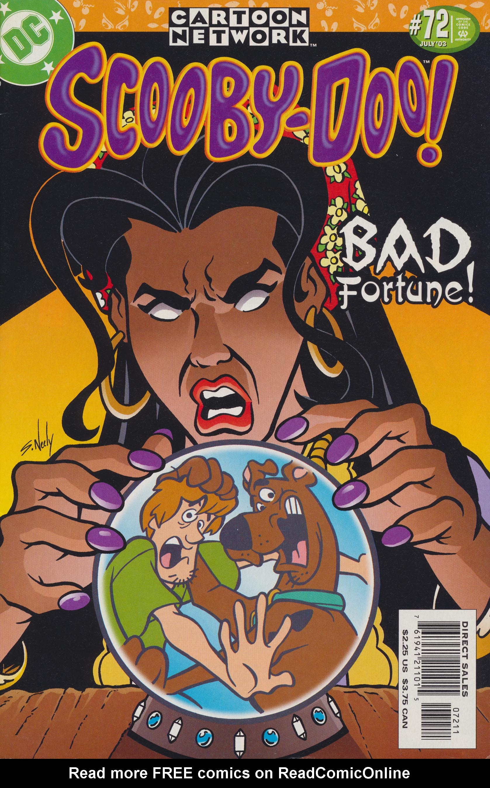 Read online Scooby-Doo (1997) comic -  Issue #72 - 1