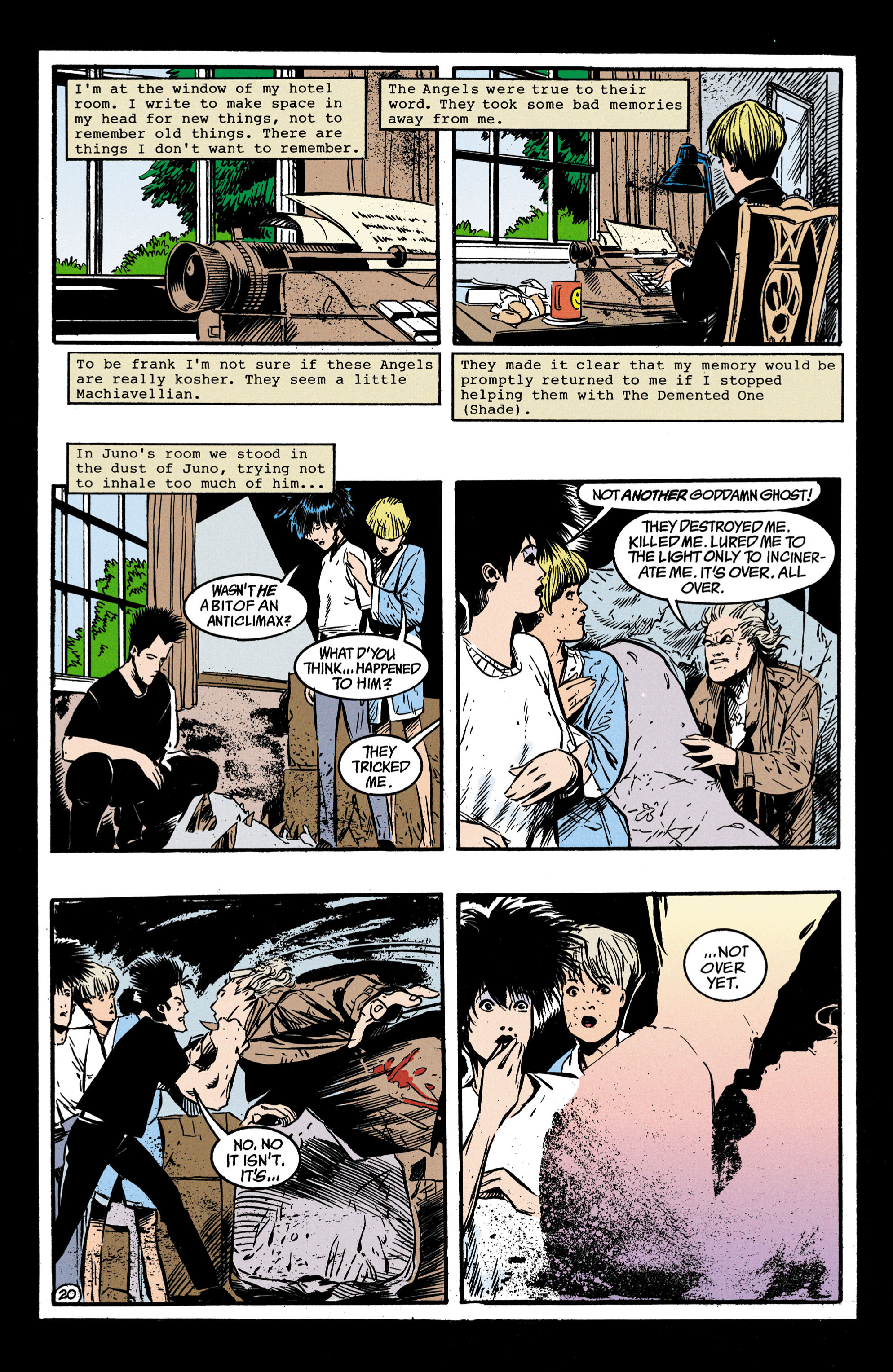Read online Shade, the Changing Man comic -  Issue #35 - 21