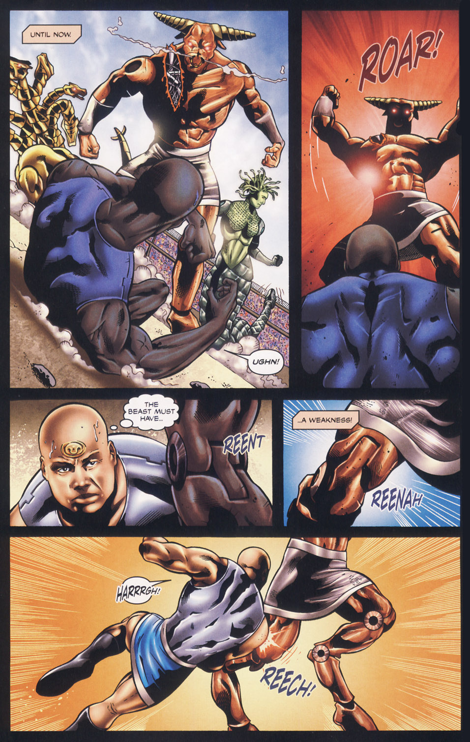 Read online Stargate SG-1: Fall of Rome comic -  Issue #3 - 4