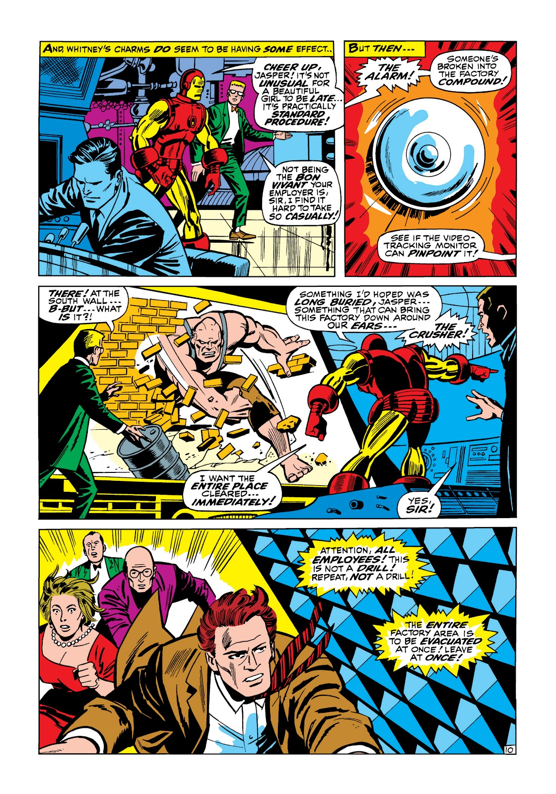 Read online Marvel Masterworks: The Invincible Iron Man comic -  Issue # TPB 5 (Part 2) - 1