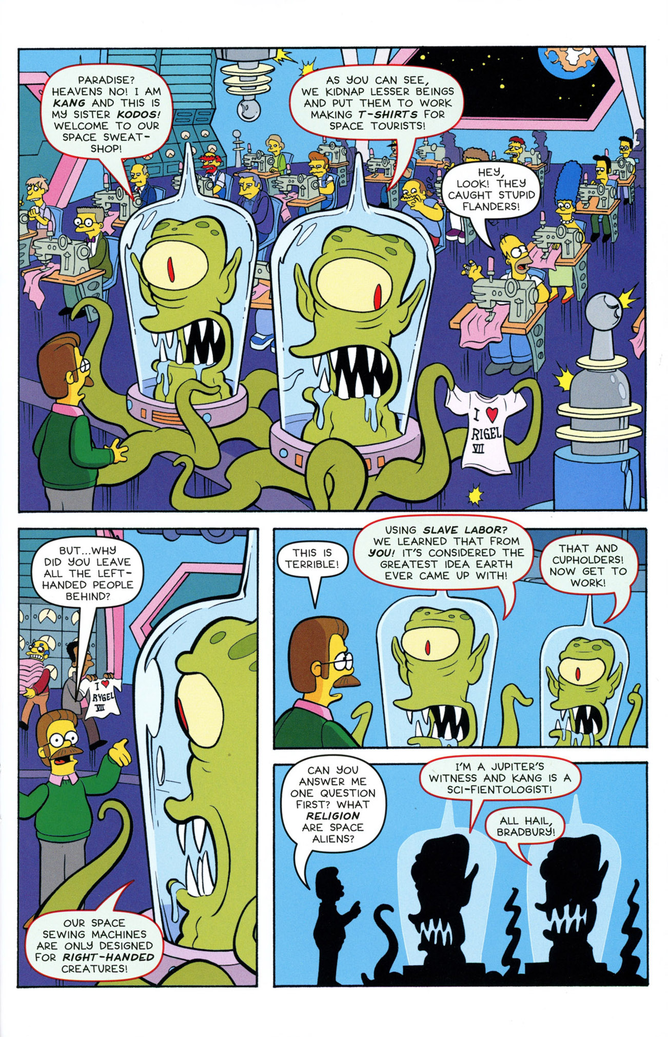 Read online Treehouse of Horror comic -  Issue #21 - 29