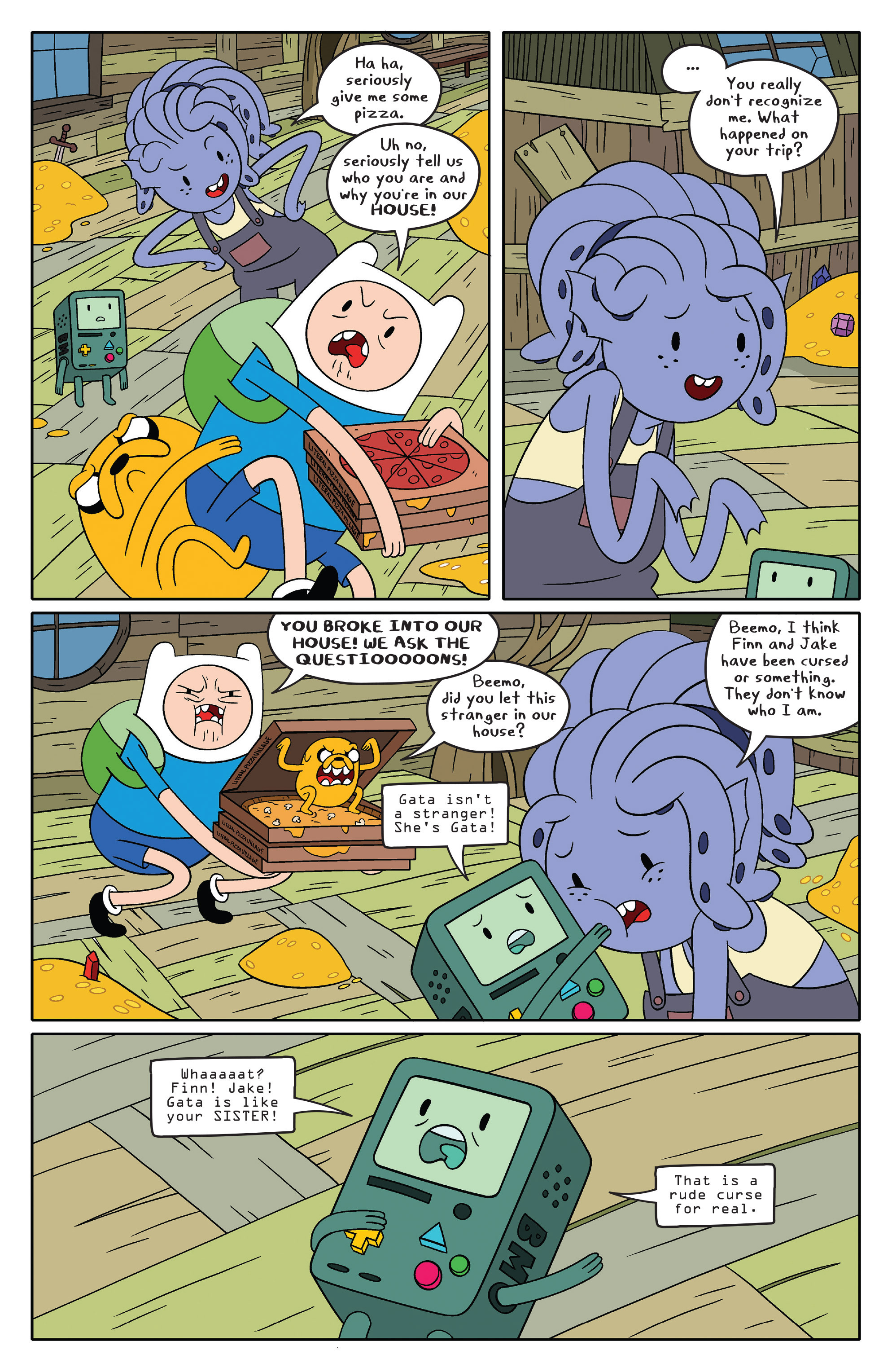 Read online Adventure Time comic -  Issue #46 - 14