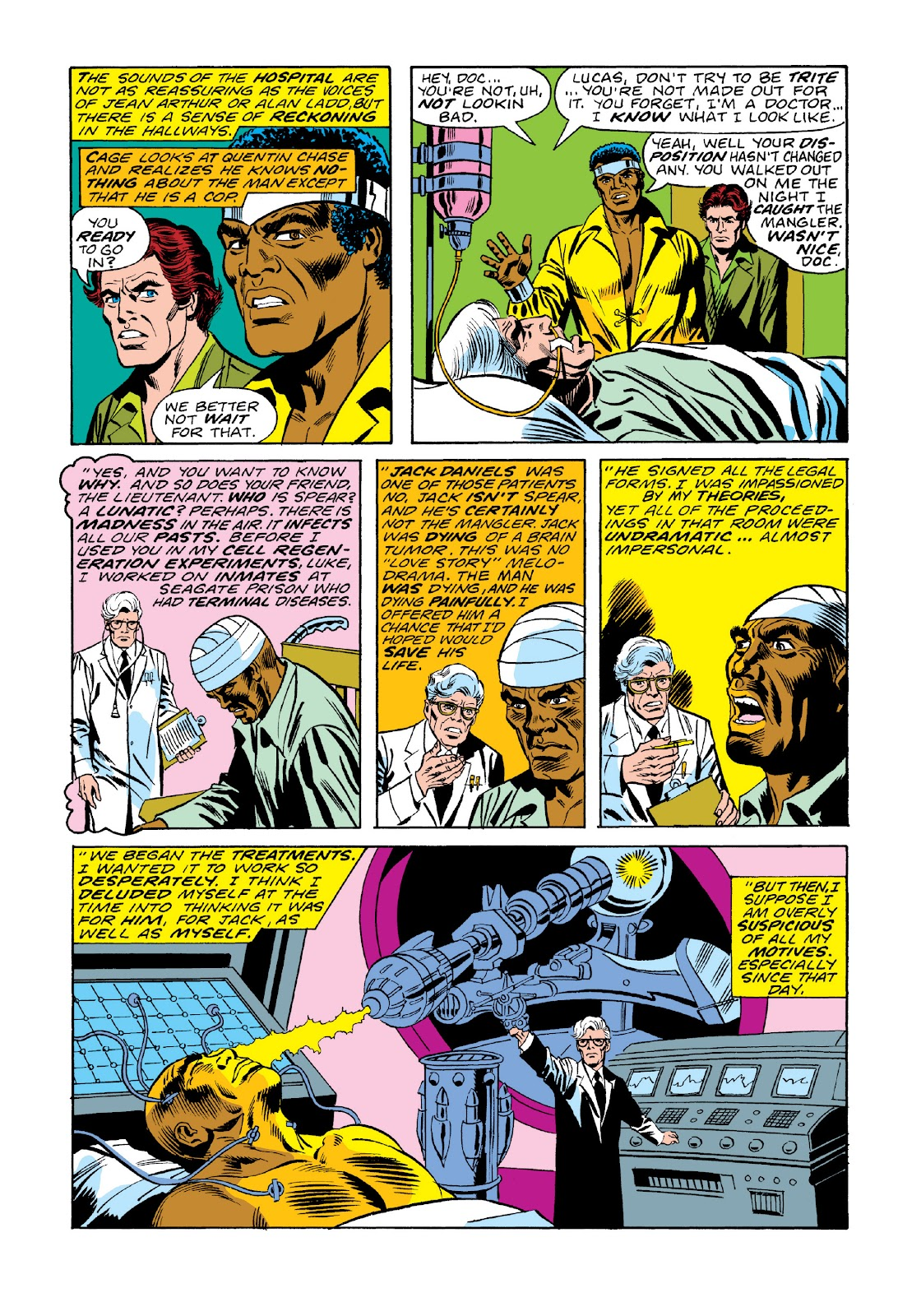 Read online Marvel Masterworks: Luke Cage, Power Man comic -  Issue # TPB 3 (Part 1) - 72