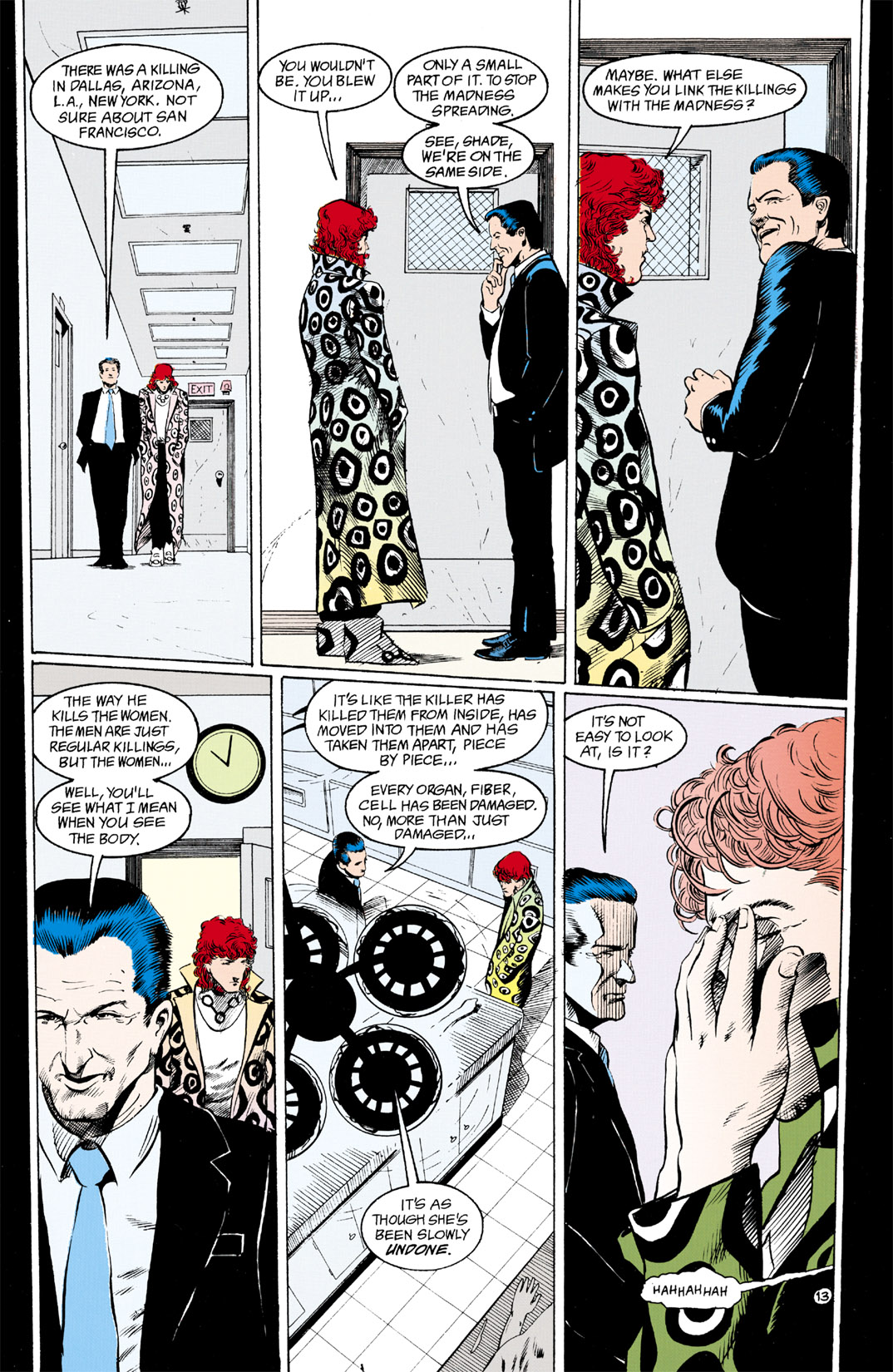 Read online Shade, the Changing Man comic -  Issue #11 - 14