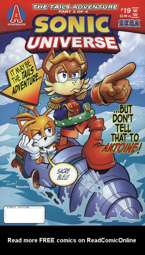 Read online Sonic Universe comic -  Issue #19 - 1