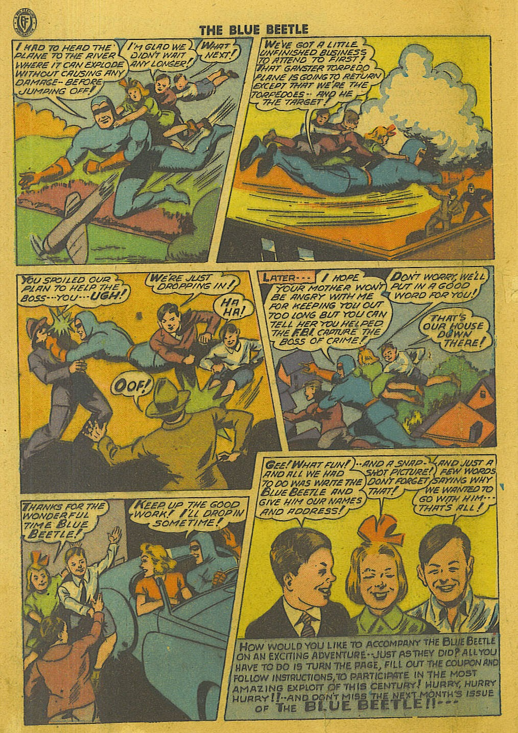 The Blue Beetle issue 35 - Page 41