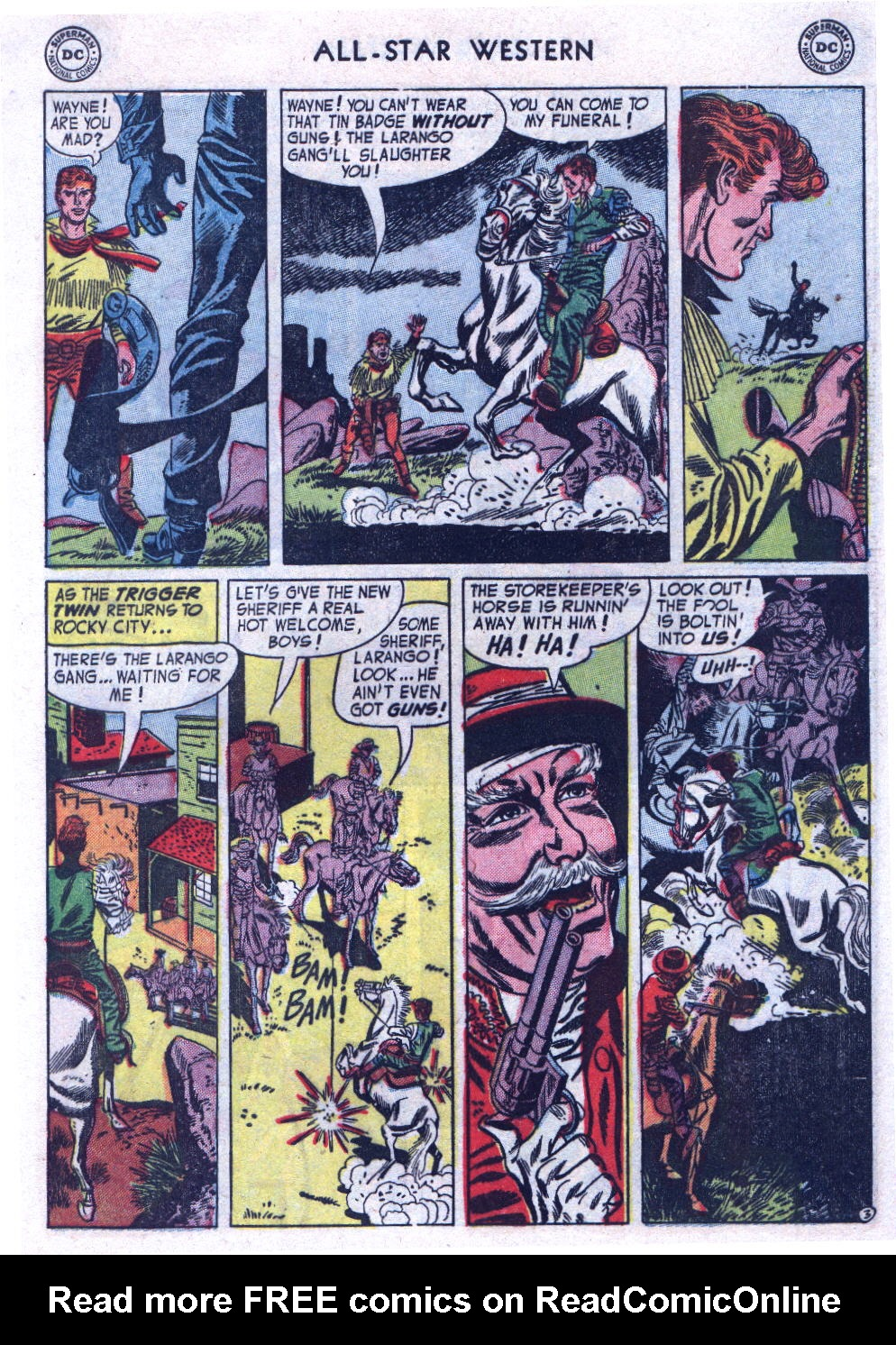 Read online All-Star Western (1951) comic -  Issue #74 - 5
