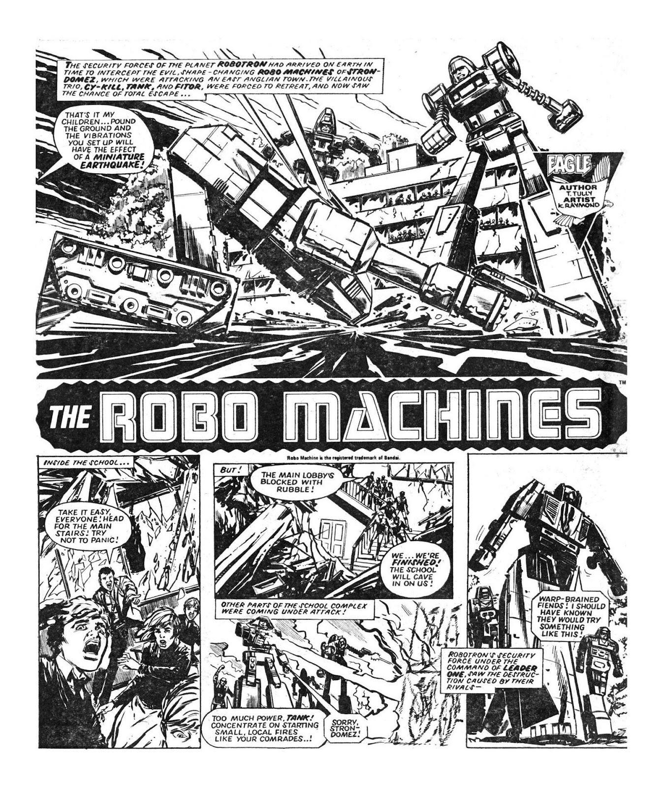 Read online Robo Machines comic -  Issue # TPB - 27