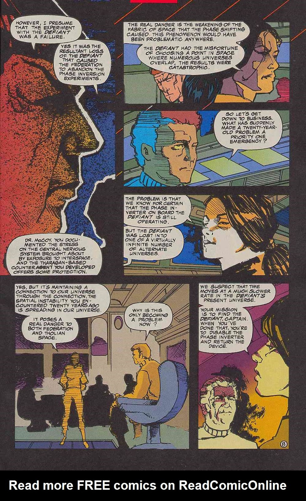 Read online Star Trek (1989) comic -  Issue # _Special 2 - 11