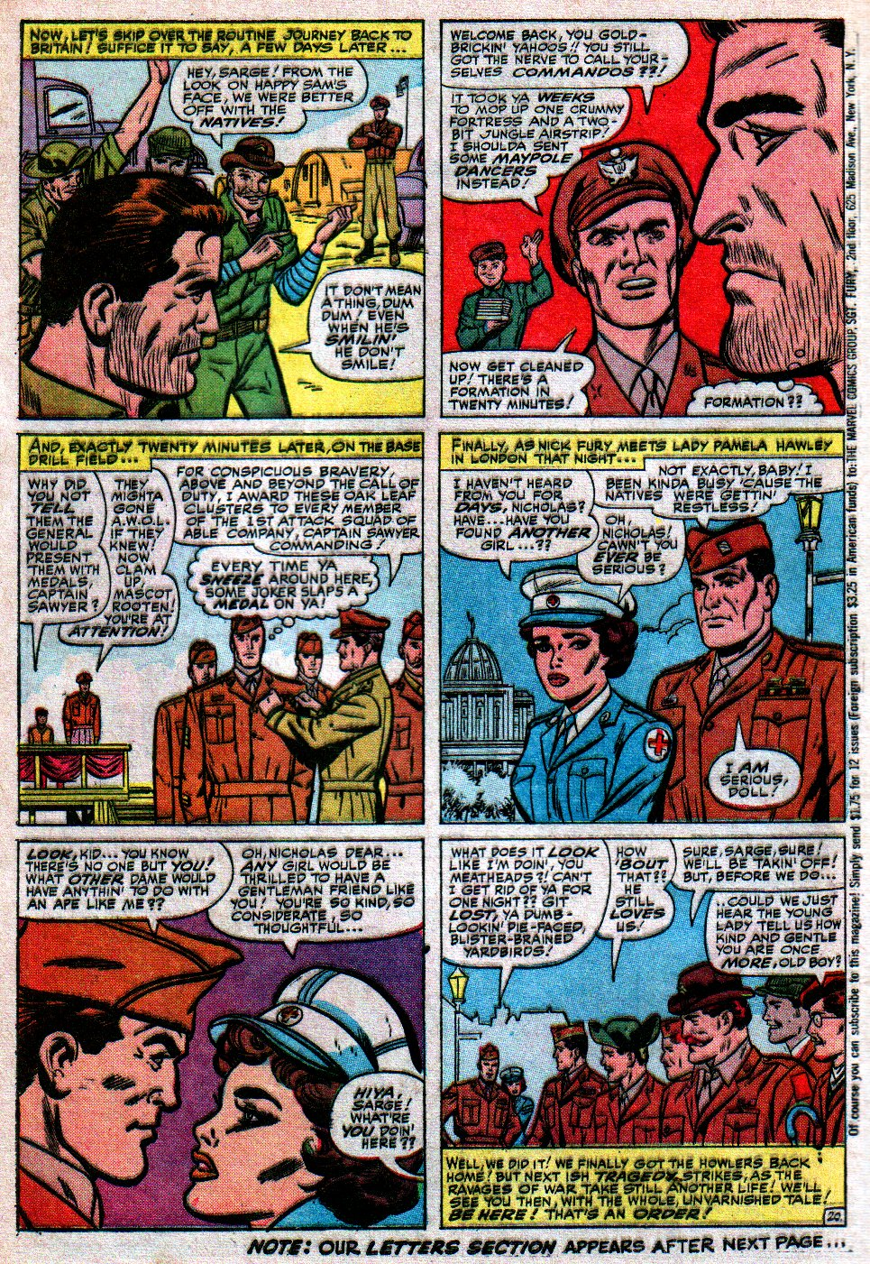 Read online Sgt. Fury comic -  Issue #17 - 28