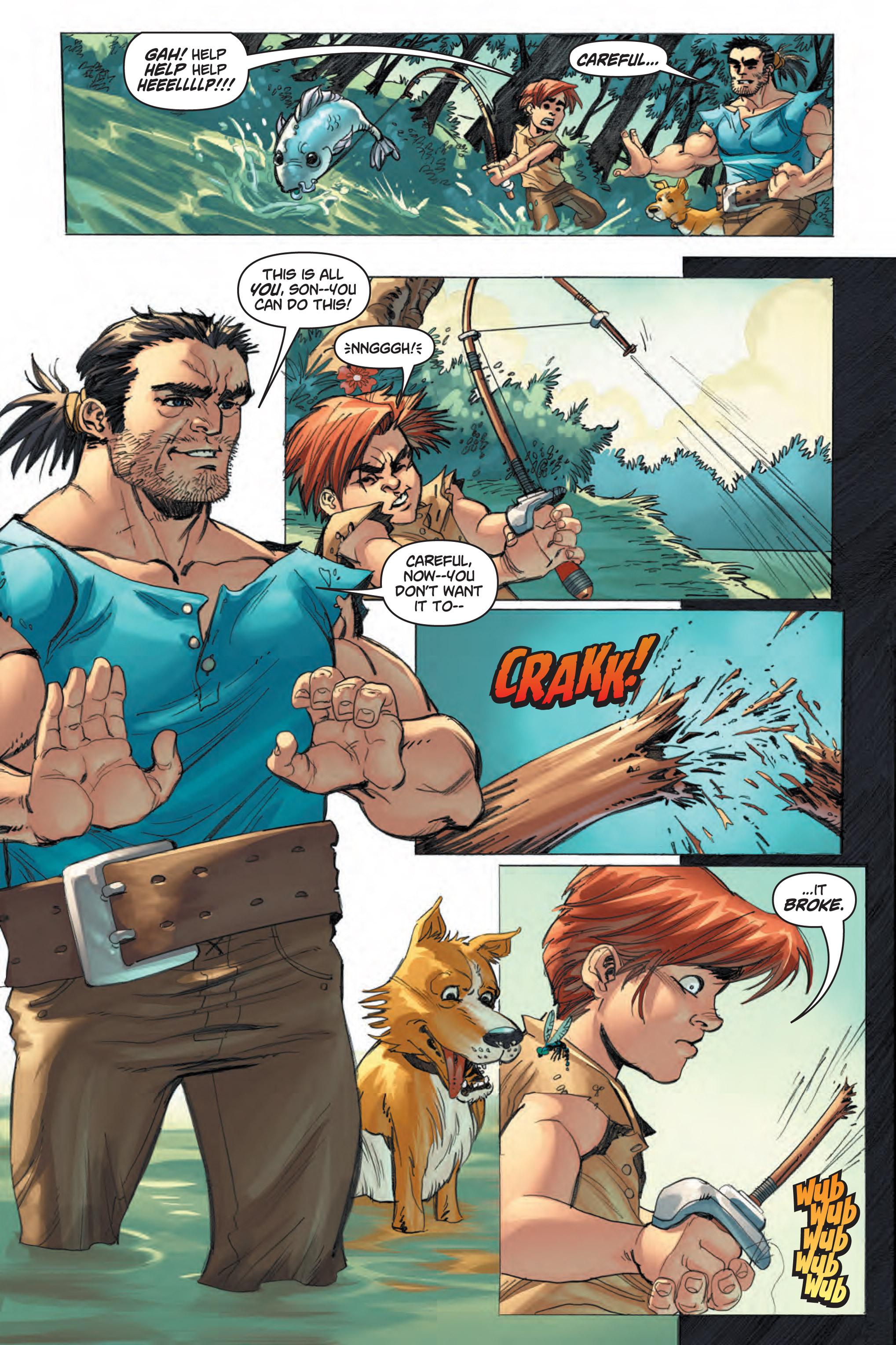 Read online Skyward comic -  Issue #1 - 5