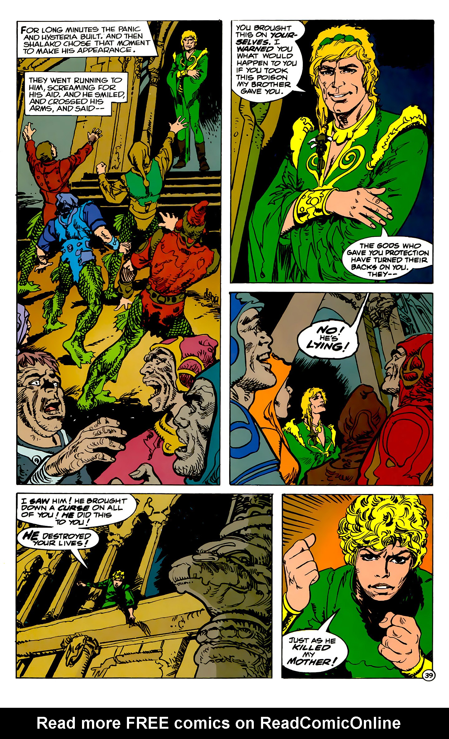 Read online Atlantis Chronicles comic -  Issue #2 - 39
