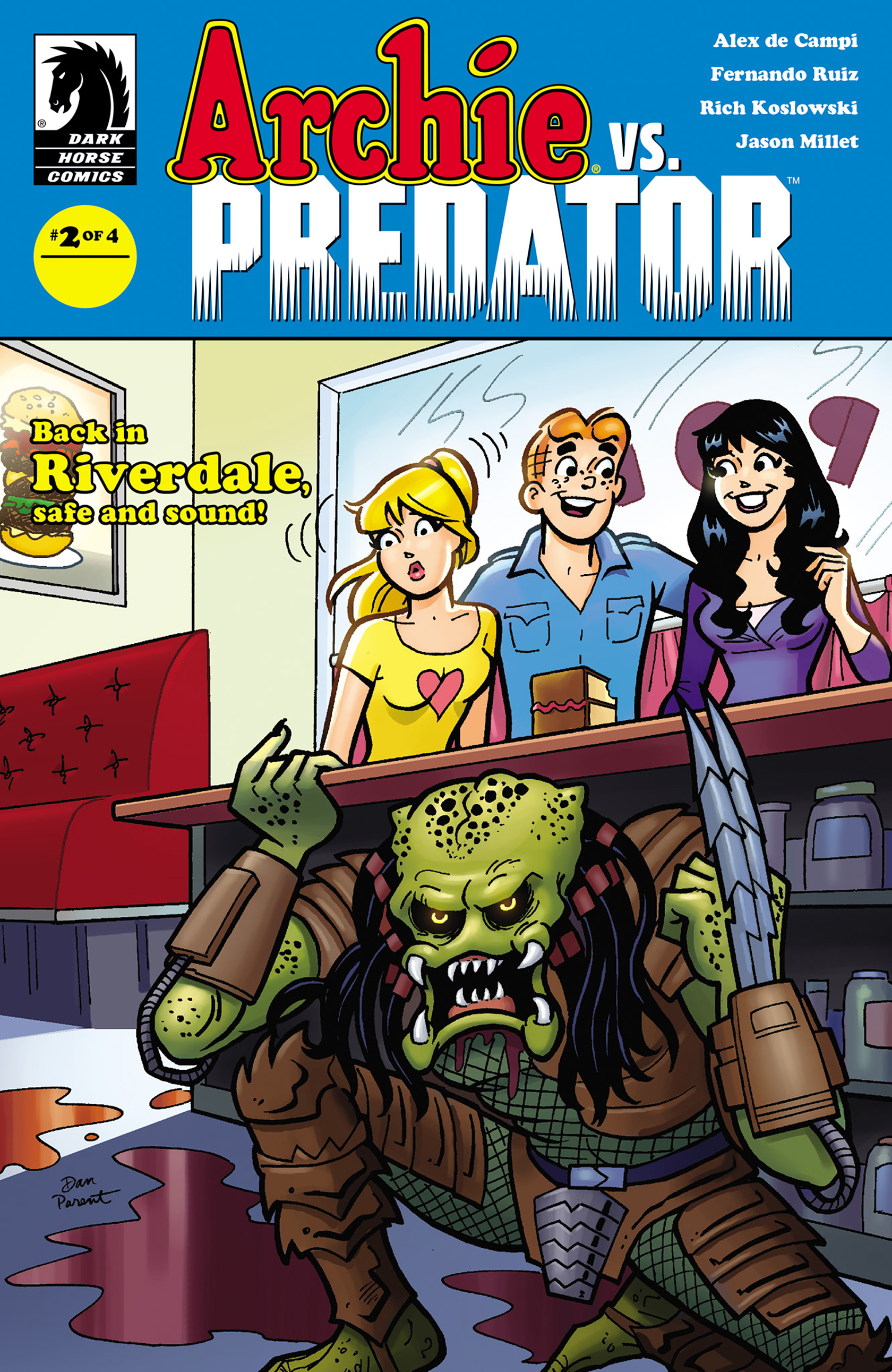 Read online Archie vs. Predator comic -  Issue #2 - 1