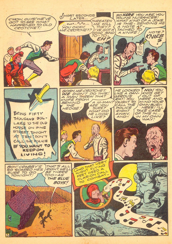 Read online Sensation (Mystery) Comics comic -  Issue #25 - 27
