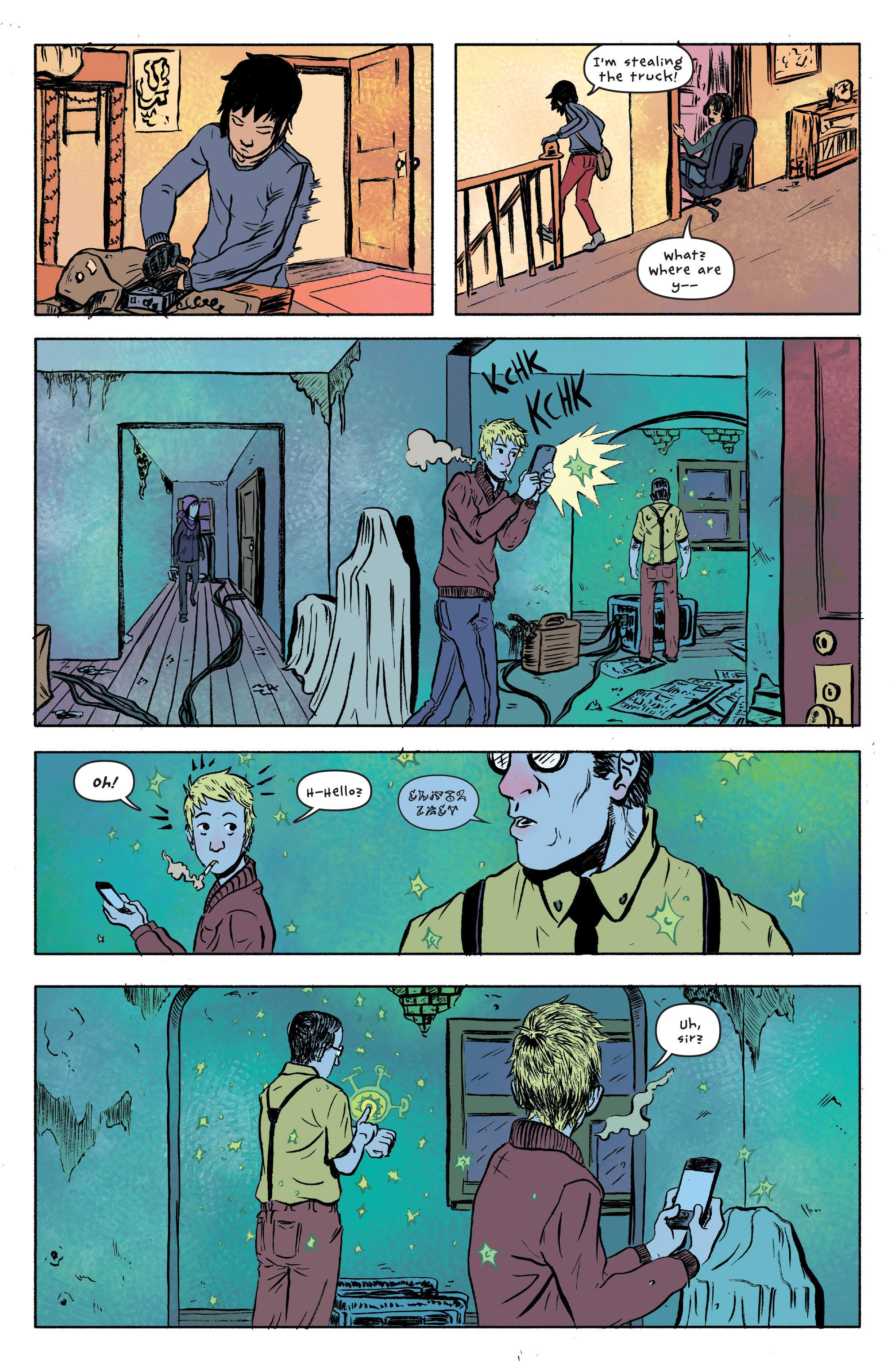 Read online UFOlogy comic -  Issue #1 - 16